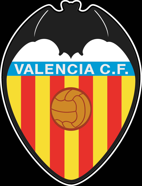 valencia cf logo escudo 1 - Valencia CF Logo