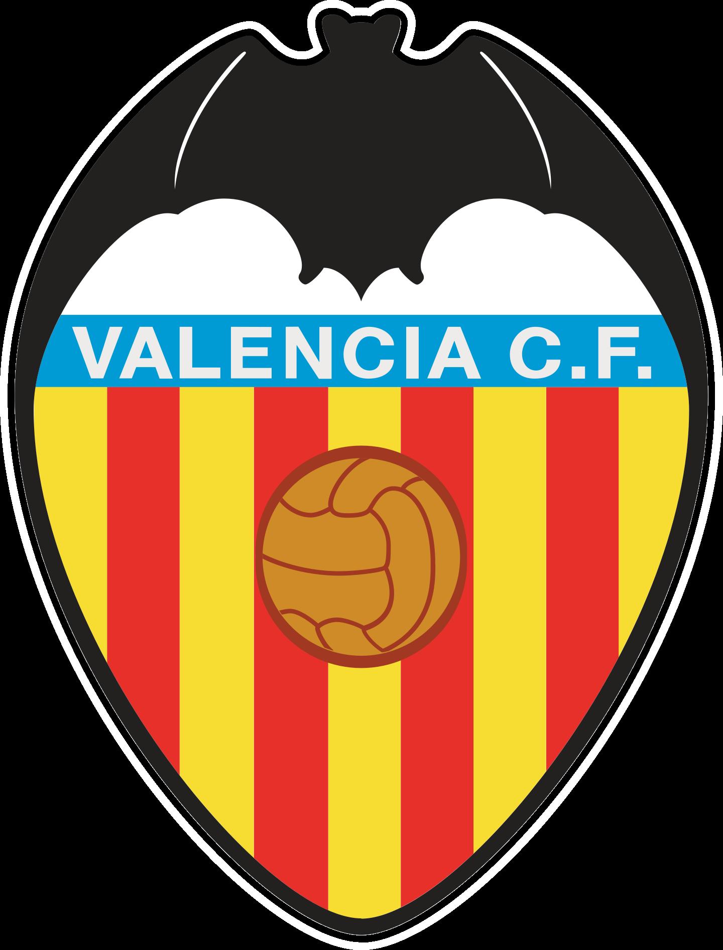 valencia cf logo escudo 2 - Valencia CF Logo