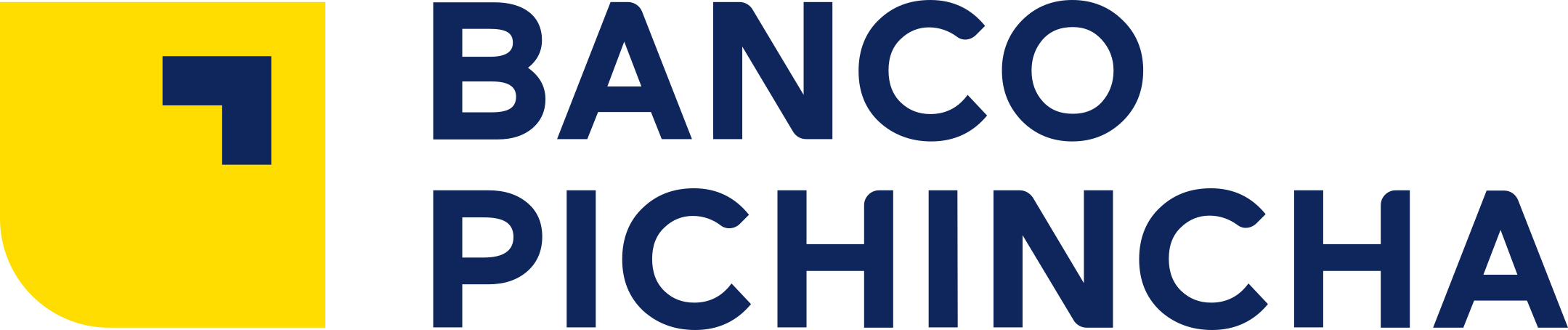 banco pichincha logo 1 - Banco Pichincha Logo