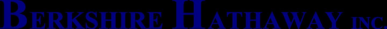 berkshire hathaway inc logo 2 - Berkshire Hathaway Logo