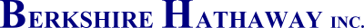 berkshire hathaway inc logo 4 - Berkshire Hathaway Logo