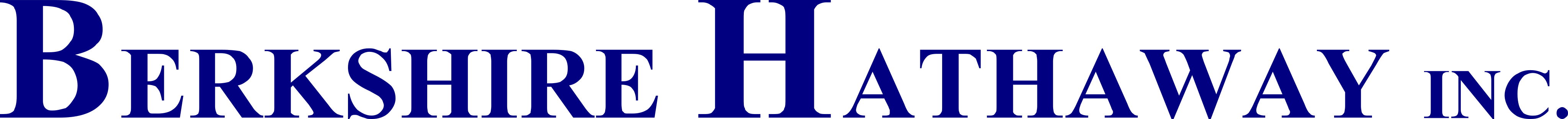berkshire hathaway inc logo - Berkshire Hathaway Logo