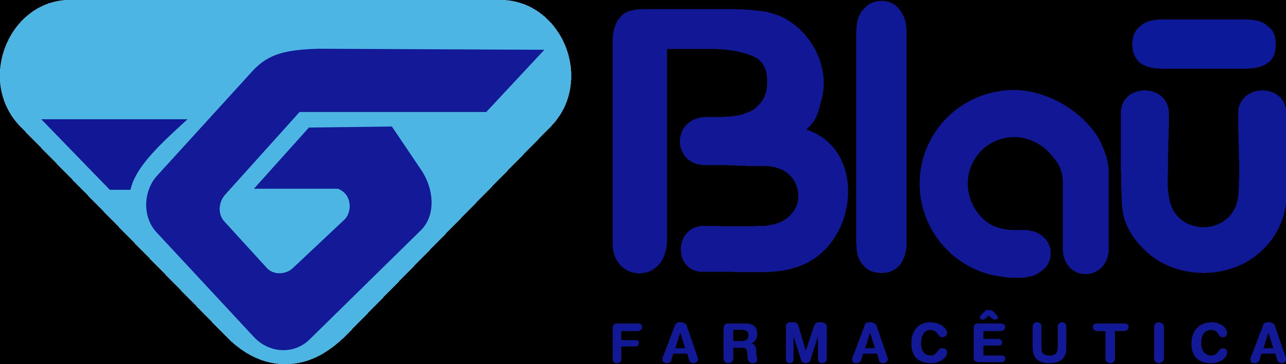 Blau Farmacêutica Logo.