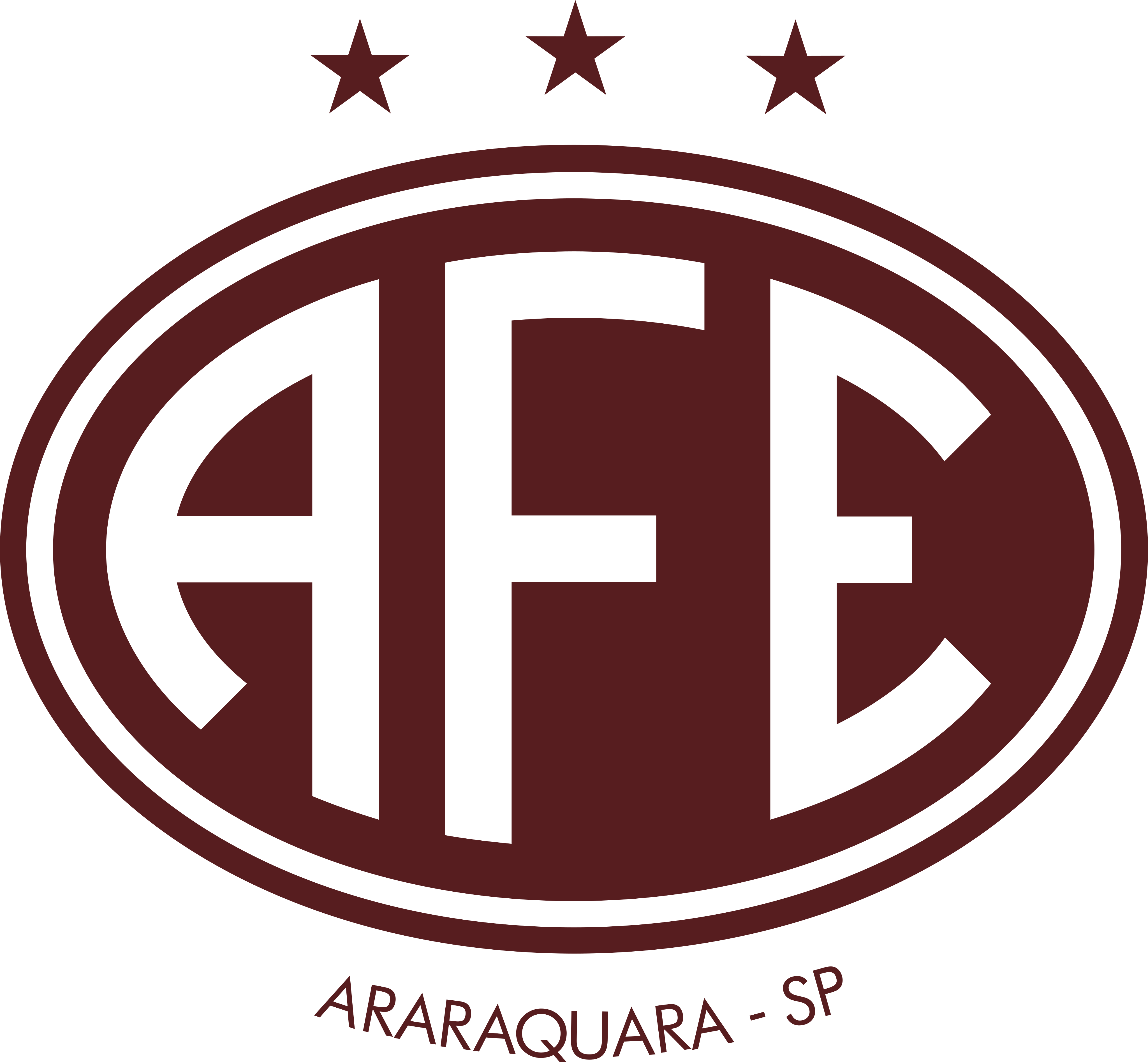 ferroviaria araraquara logo 1 - Ferroviária Araraquara Logo