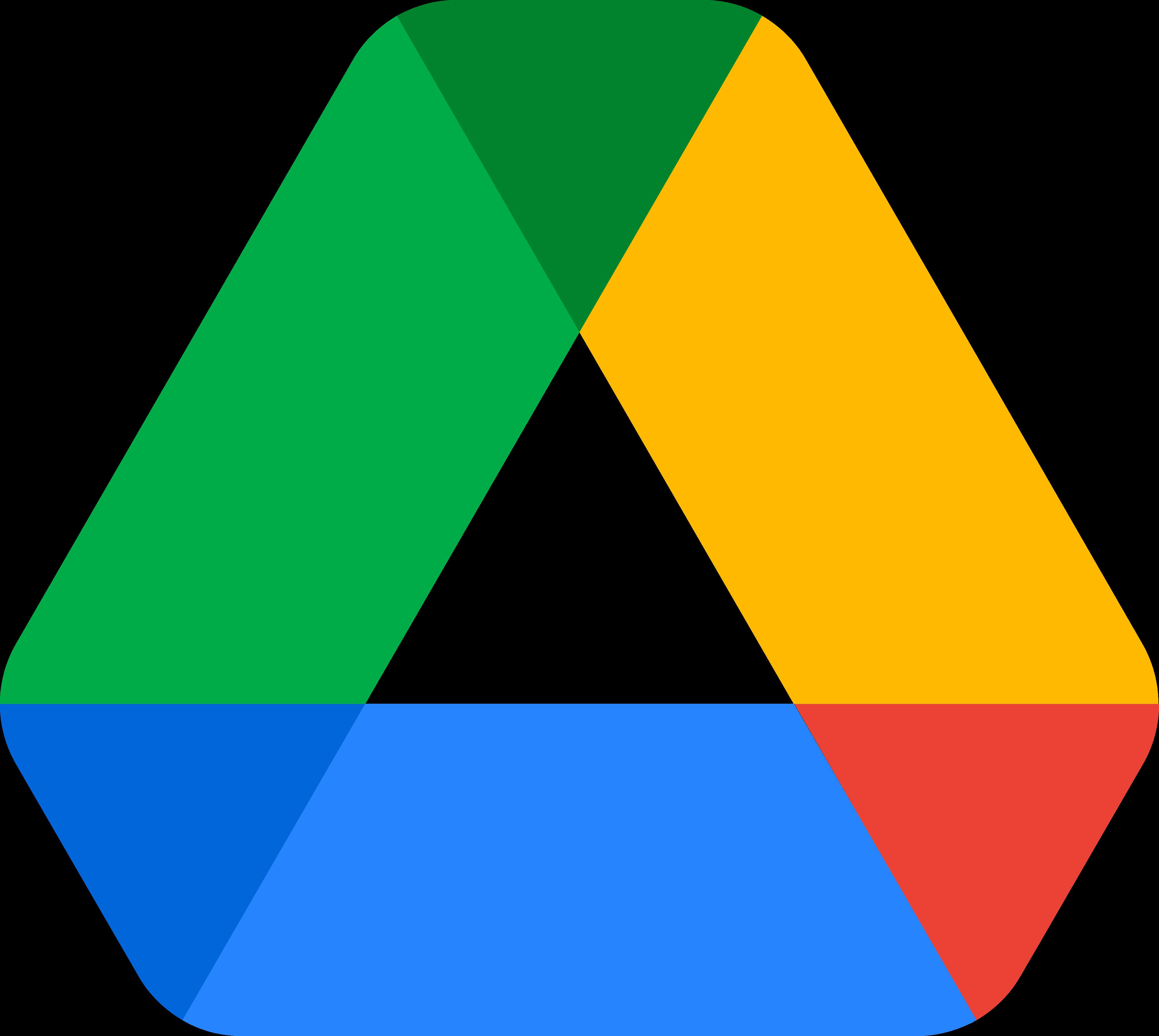 google drive logo 1 1 - Google Drive Logo