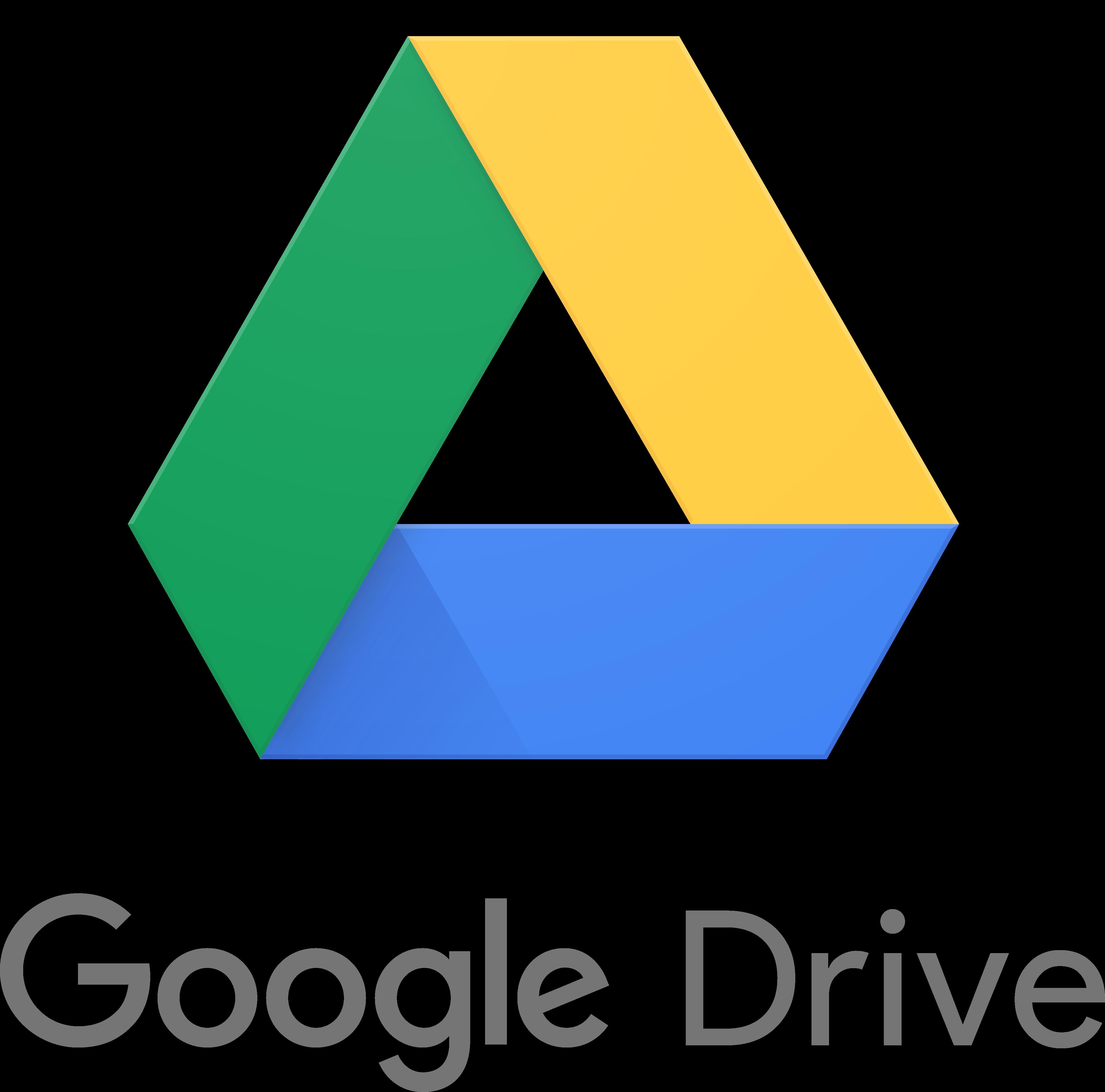 google drive logo 2 - Google Drive Logo