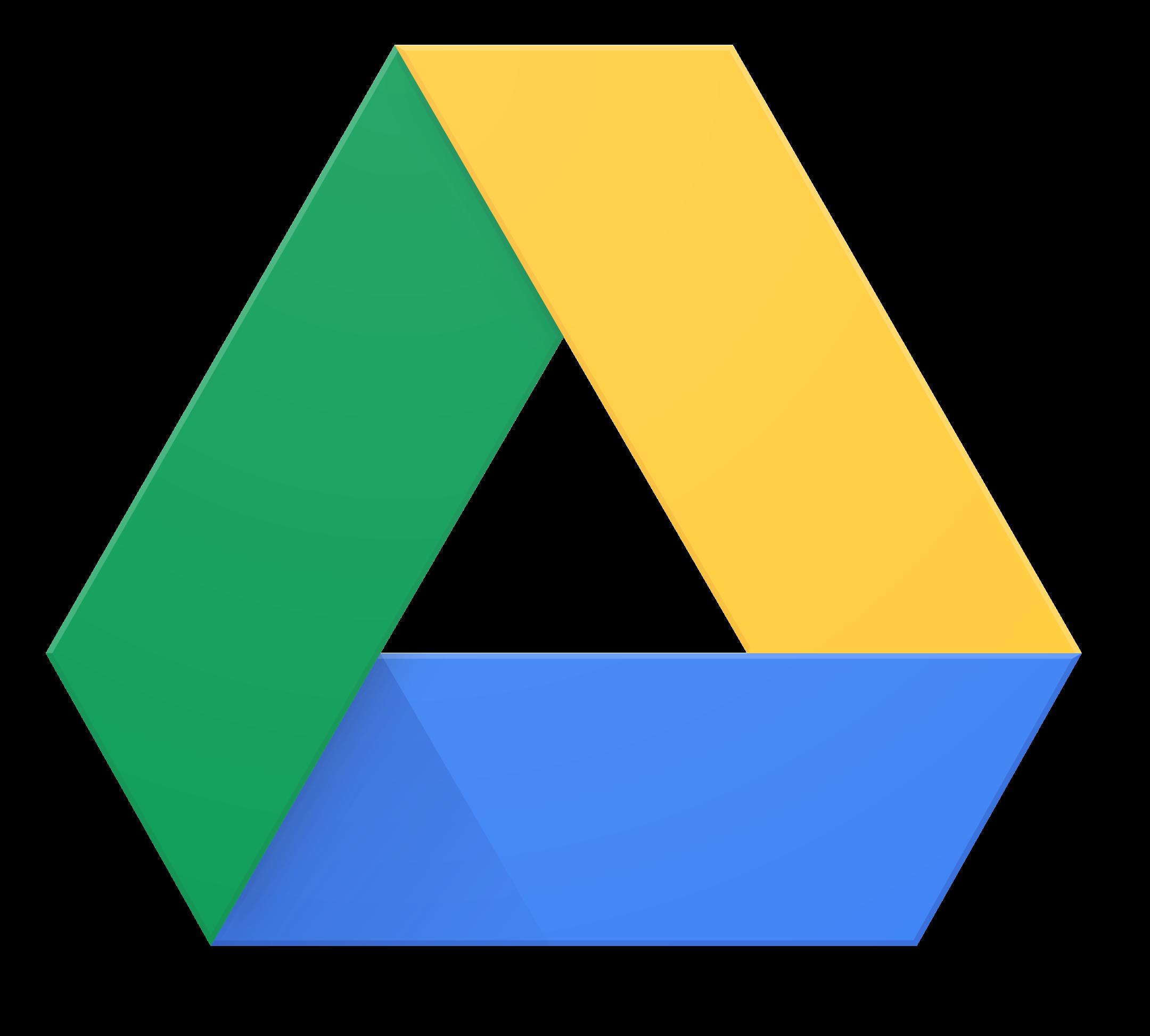 google drive logo 7 - Google Drive Logo