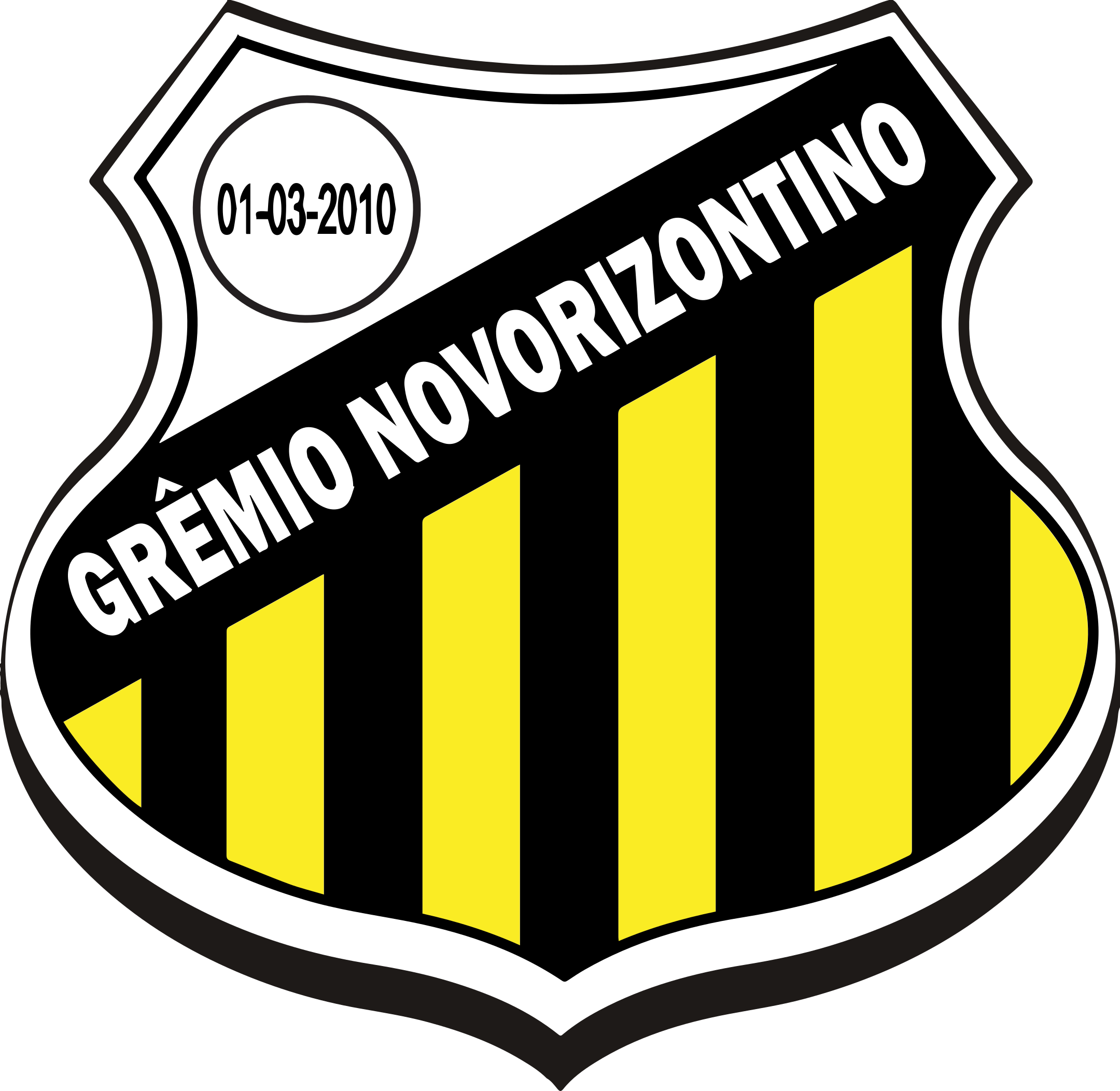 gremio novorizontino logo escudo 1 - Grêmio Novorizontino Logo