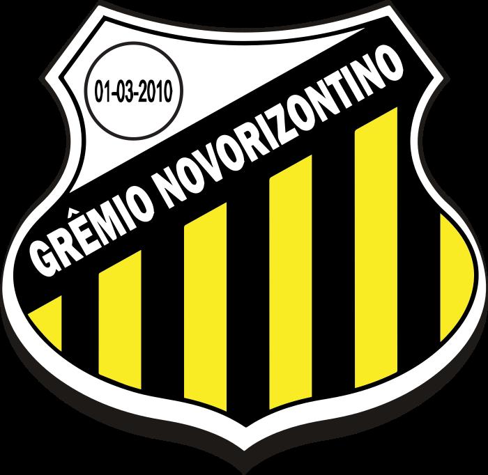 gremio novorizontino logo escudo 3 - Grêmio Novorizontino Logo