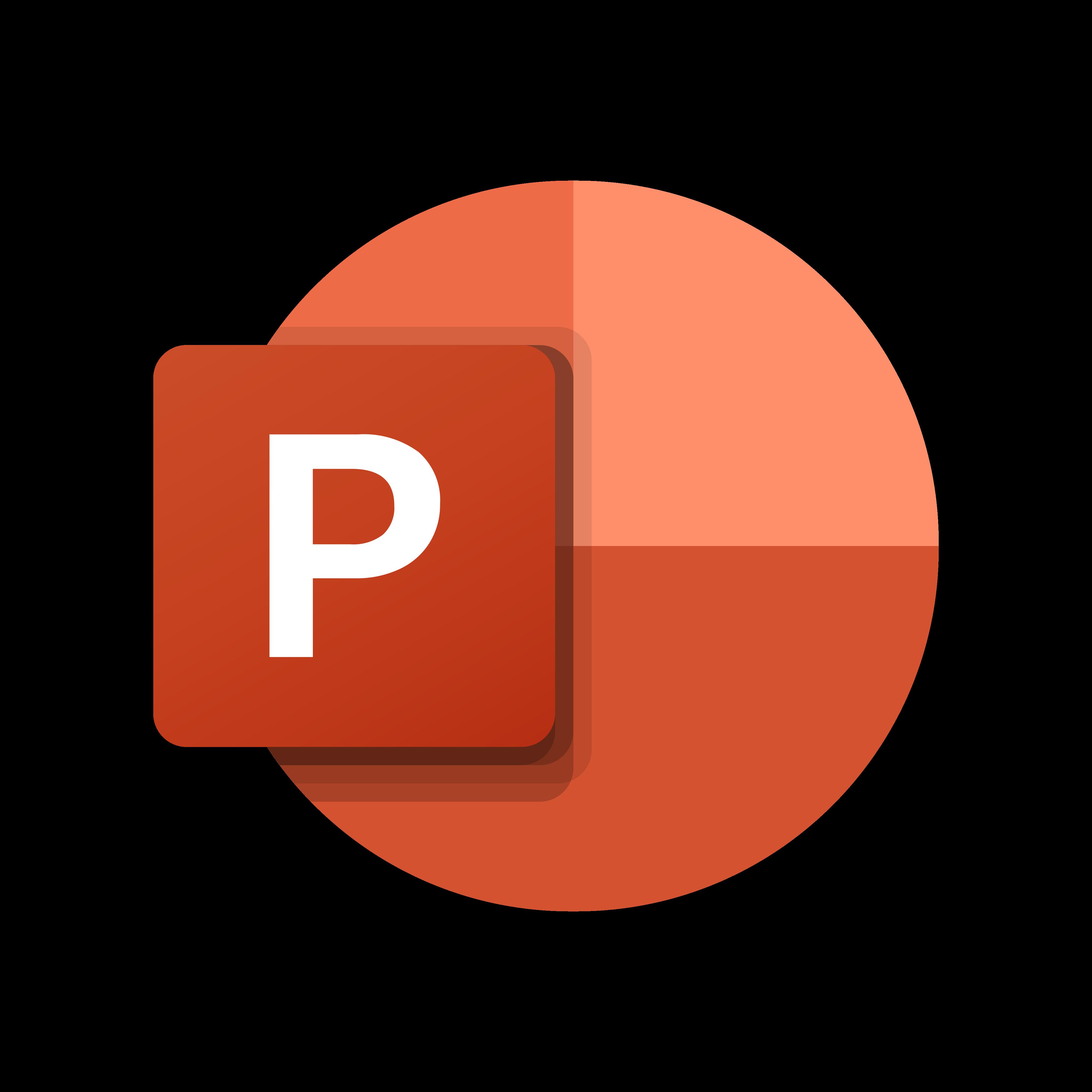 microsoft powerpoint logo 0 - Microsoft PowerPoint Logo