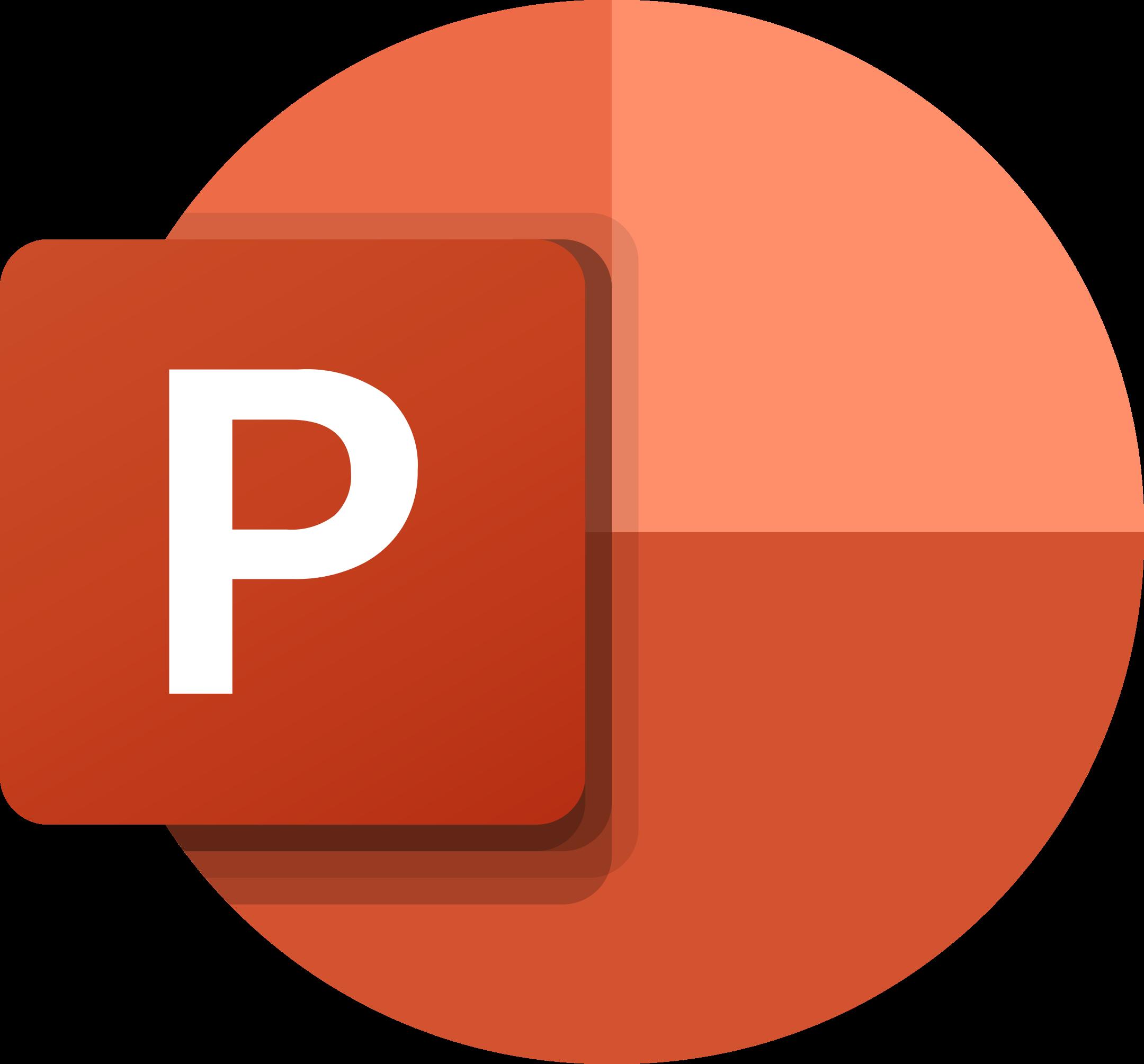 microsoft powerpoint logo 1 - Microsoft PowerPoint Logo