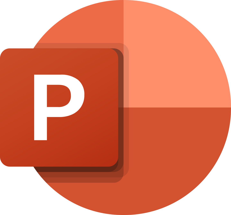 microsoft powerpoint logo 2 - Microsoft PowerPoint Logo