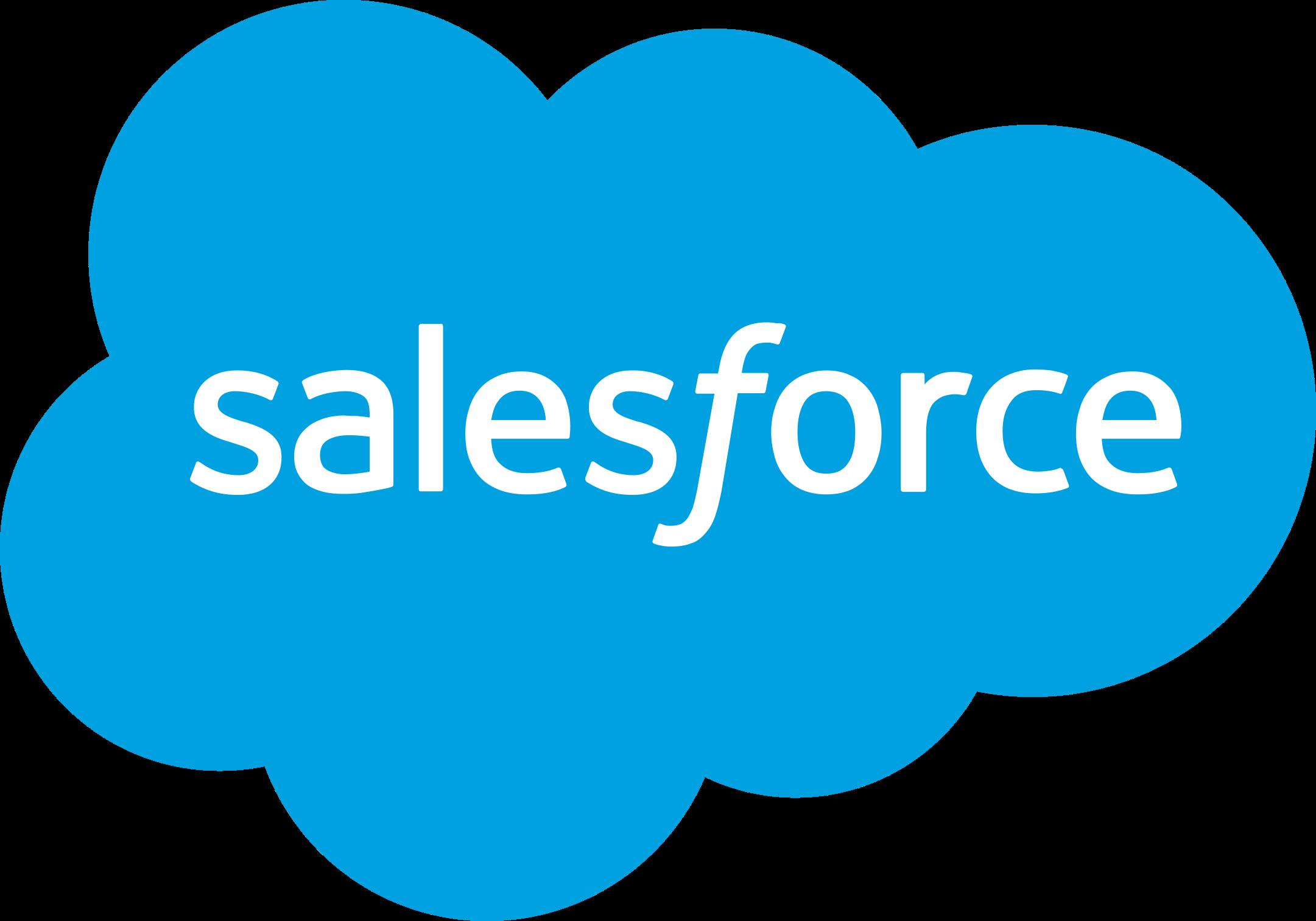 salesforce logo 1 - Salesforce Logo
