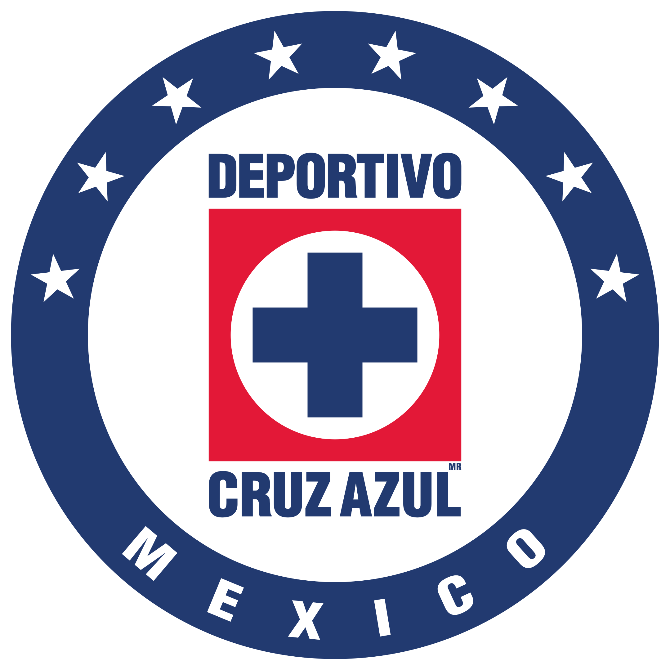 cruz azul fc logo 1 - Cruz Azul FC Logo