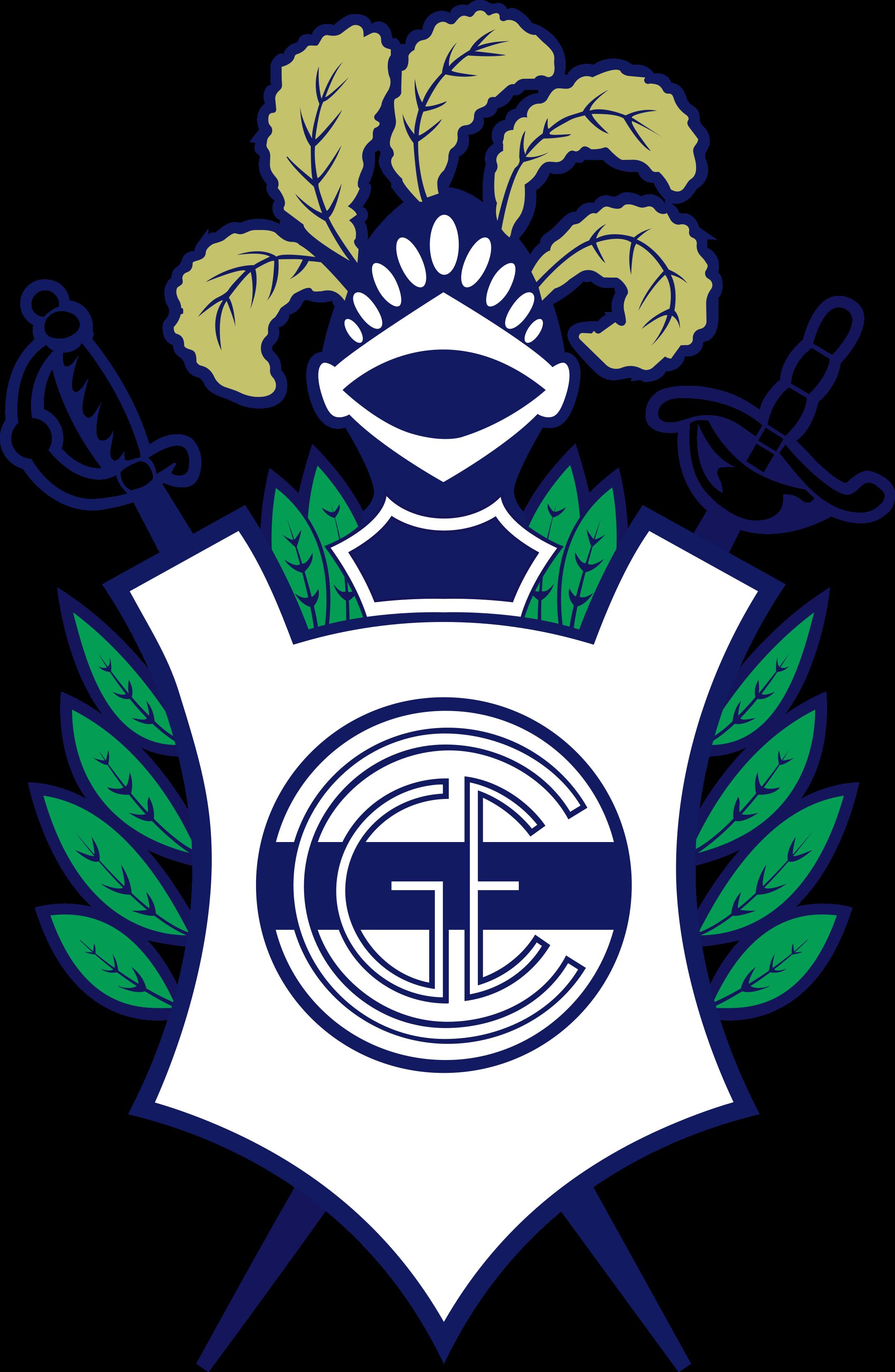 gimnasia y esgrima de la plata logo 1 - Gimnasia y Esgrima La Plata Logo