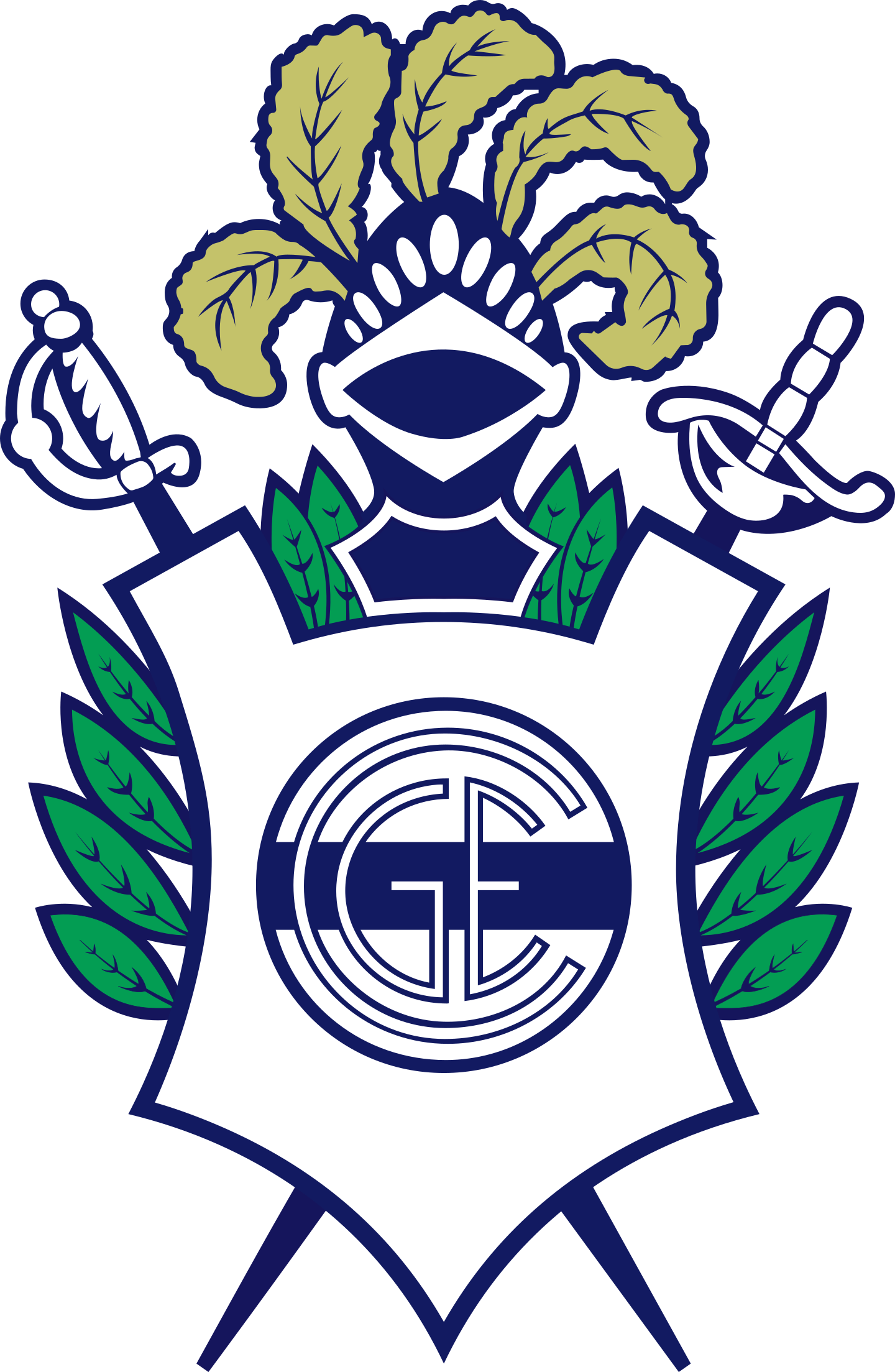 gimnasia y esgrima de la plata logo 2 - Gimnasia y Esgrima La Plata Logo