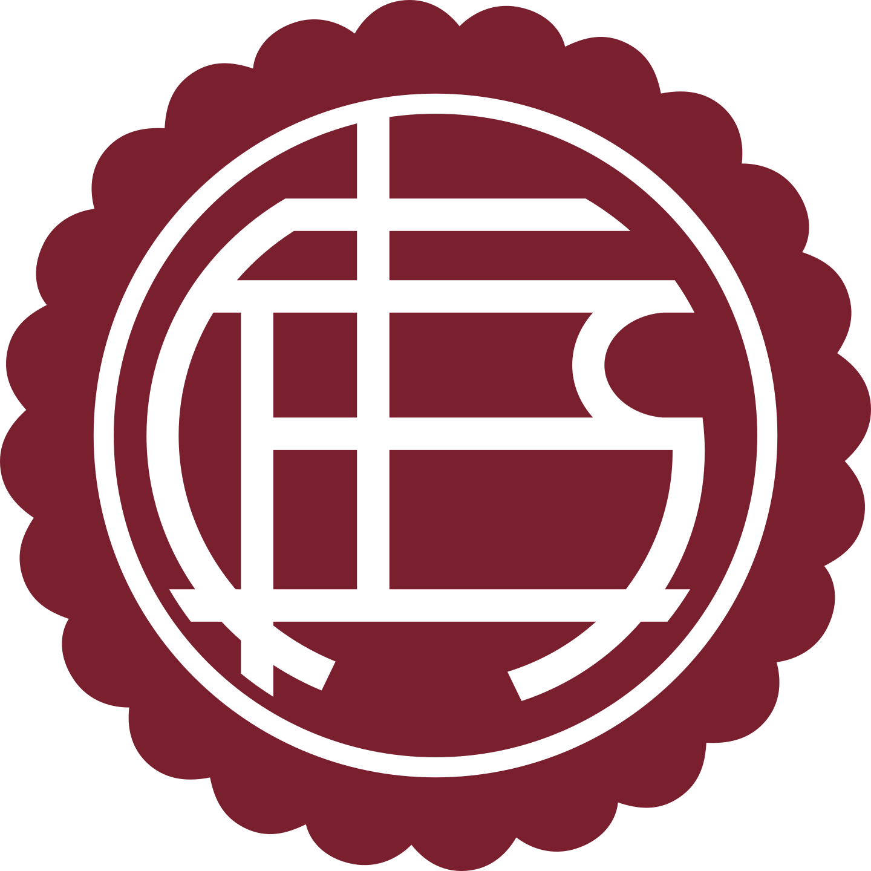 lanus logo 2 - Club Atlético Lanús Logo - Escudo
