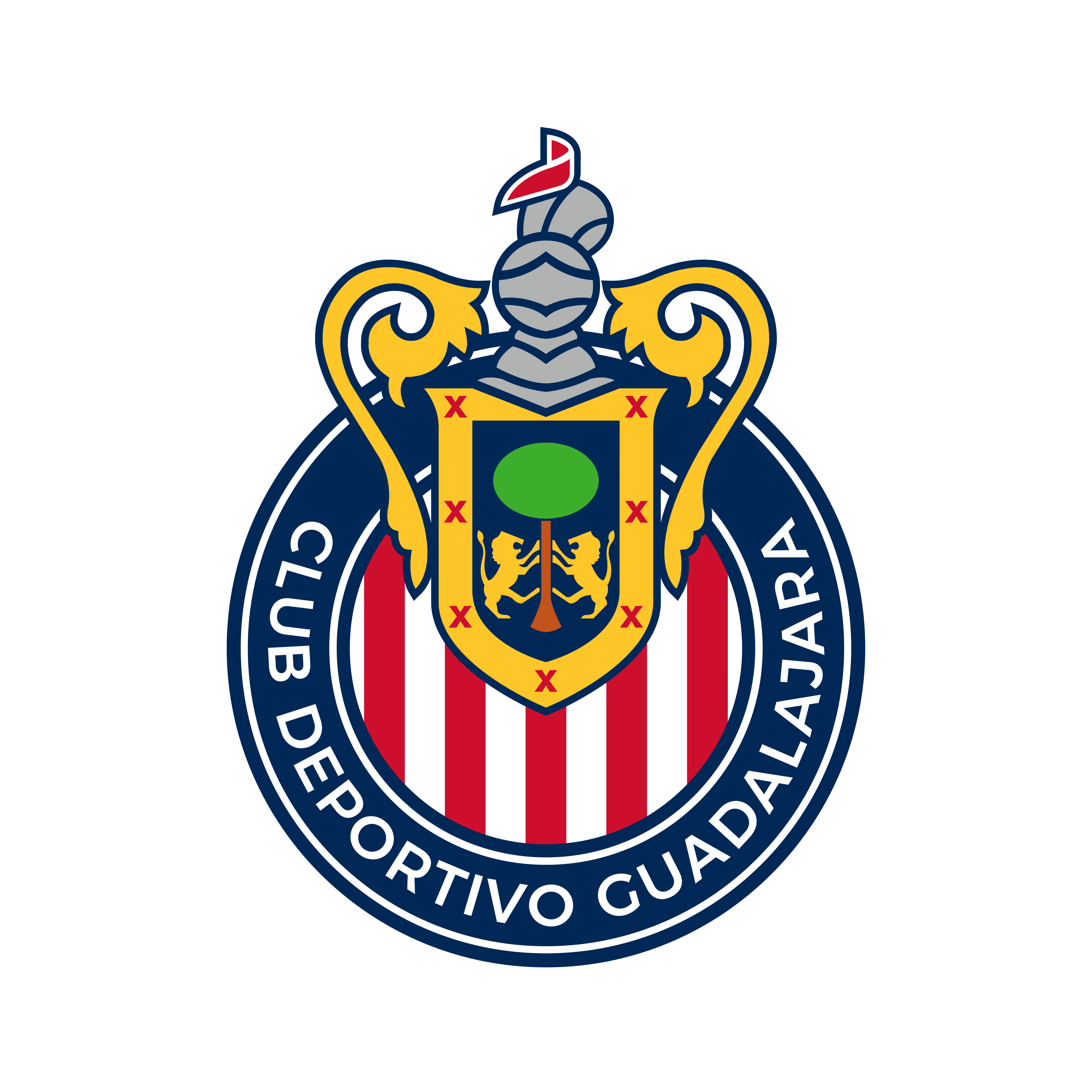 chivas guadalajara logo 0 - Chivas Guadalajara Logo - Escudo