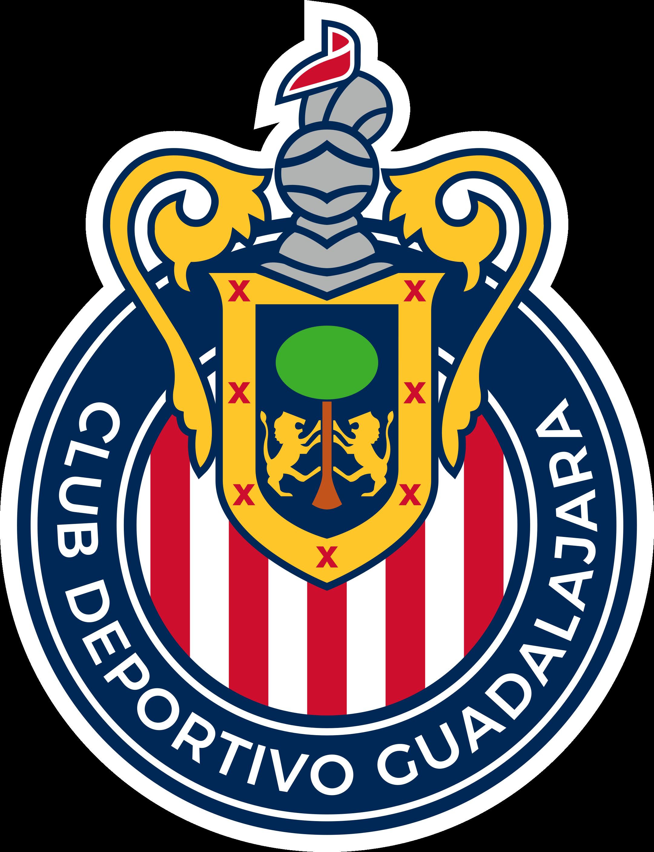 chivas guadalajara logo 1 - Chivas Guadalajara Logo - Escudo