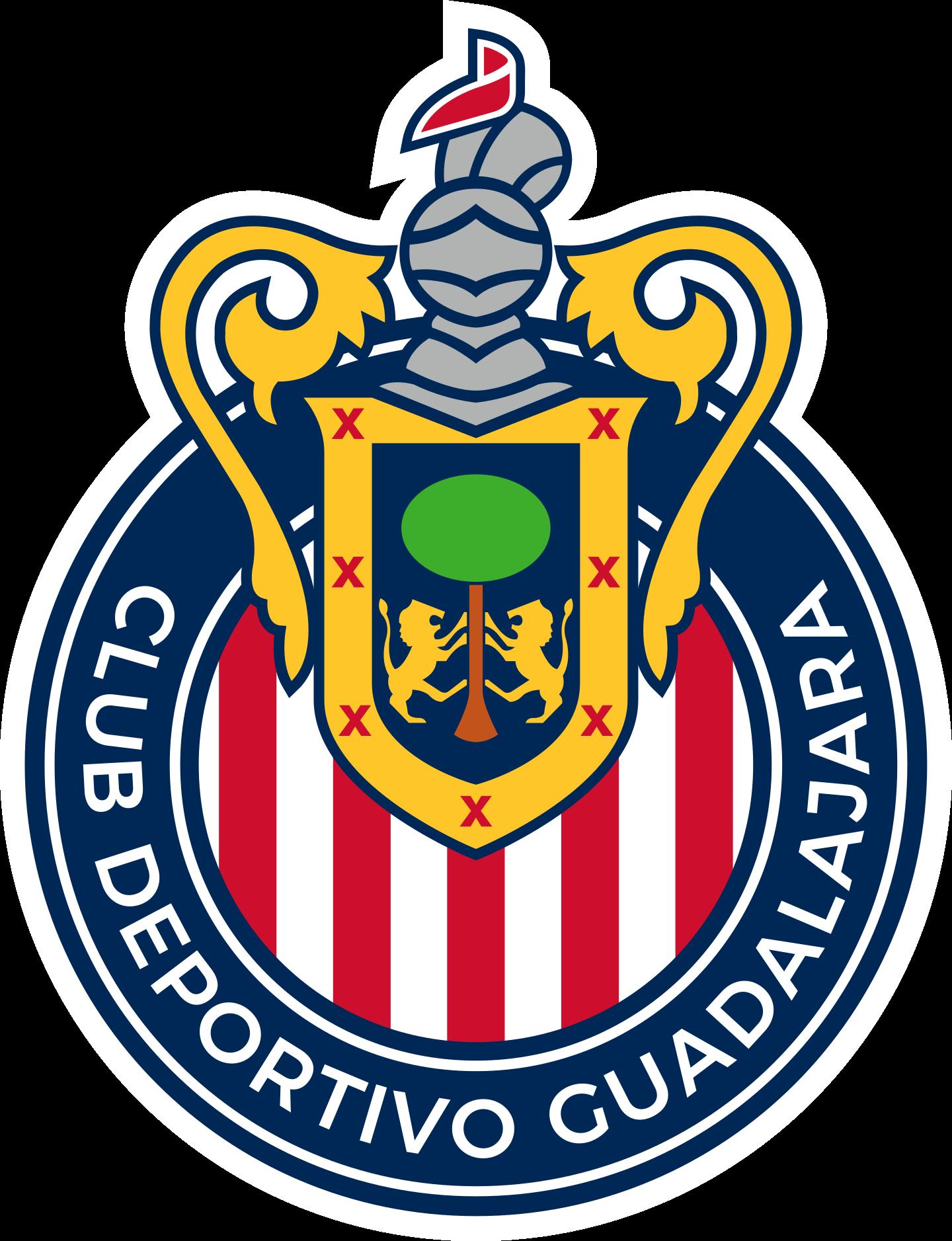 chivas guadalajara logo 2 - Chivas Guadalajara Logo - Escudo