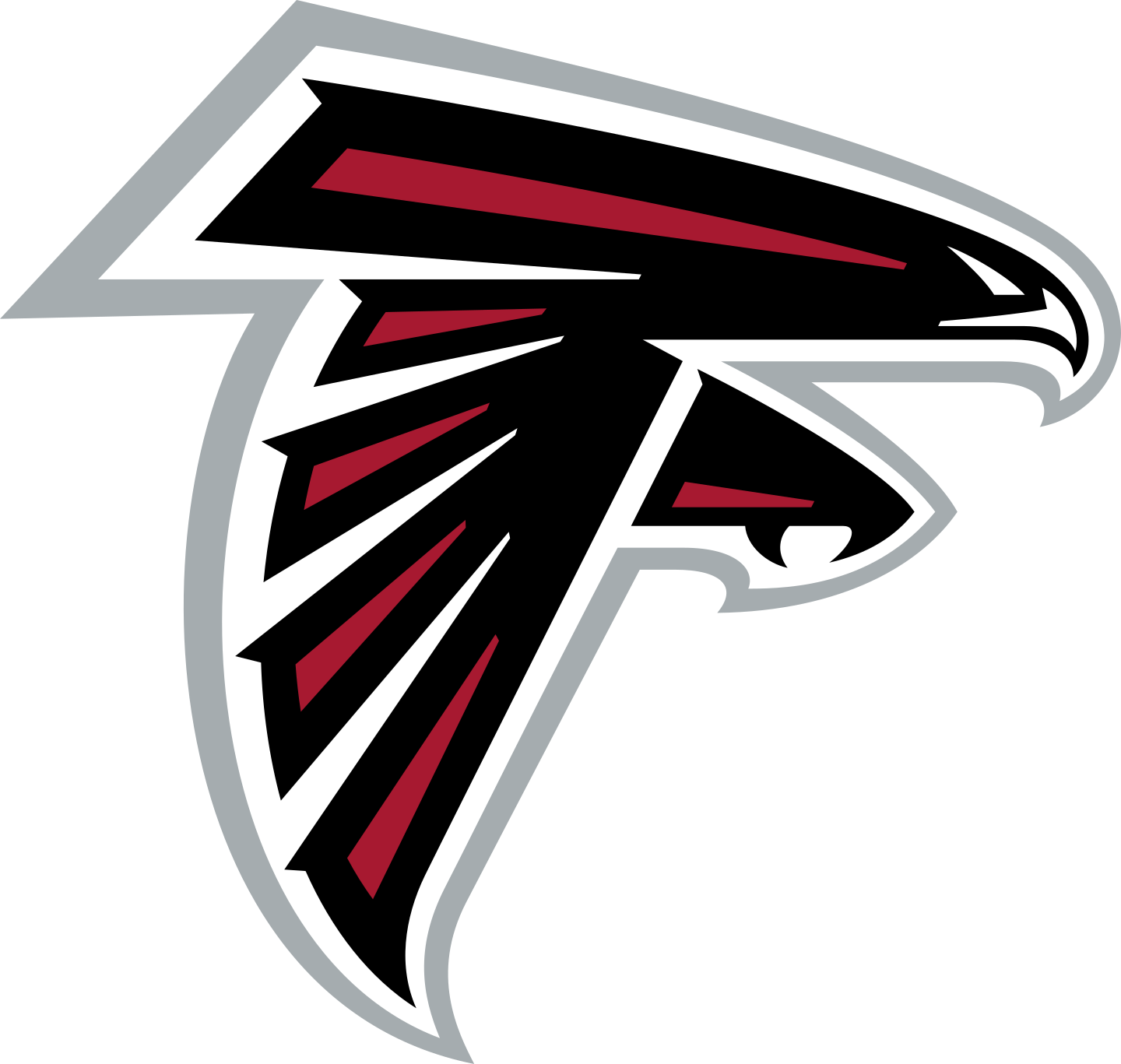 atlanta falcons logo 2 - Atlanta Falcons Logo