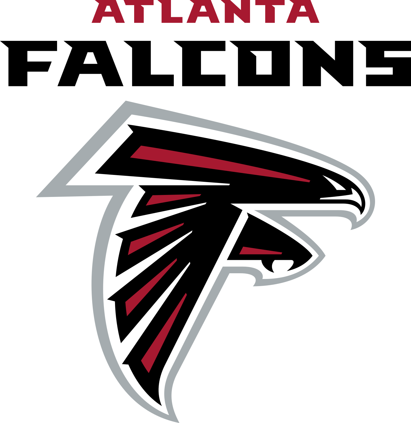atlanta falcons logo 3 - Atlanta Falcons Logo