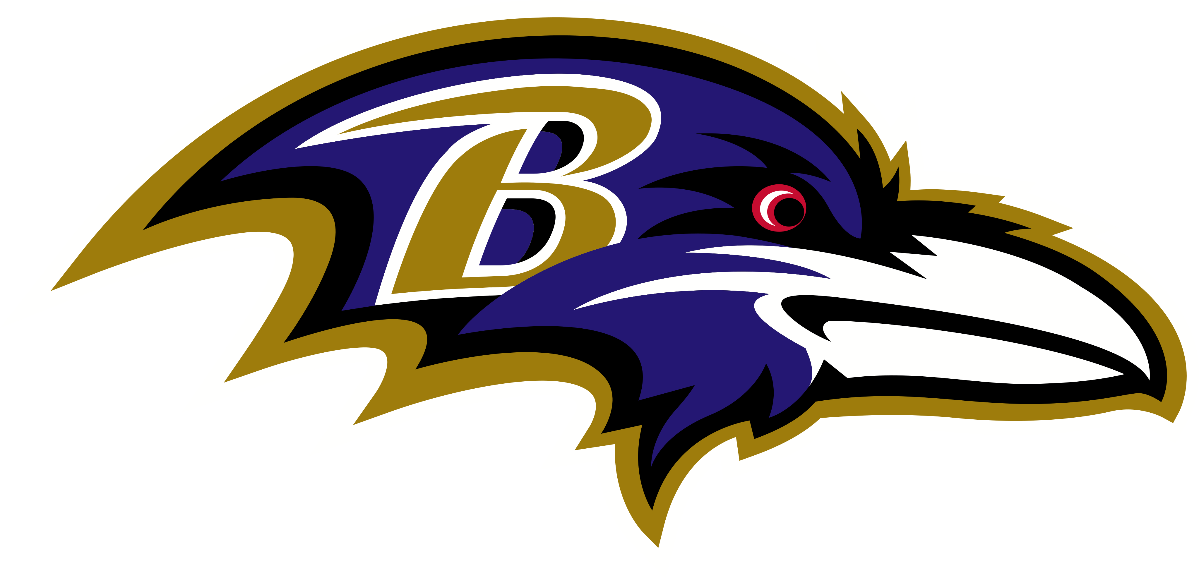 baltimore ravens logo - Baltimore Ravens Logo