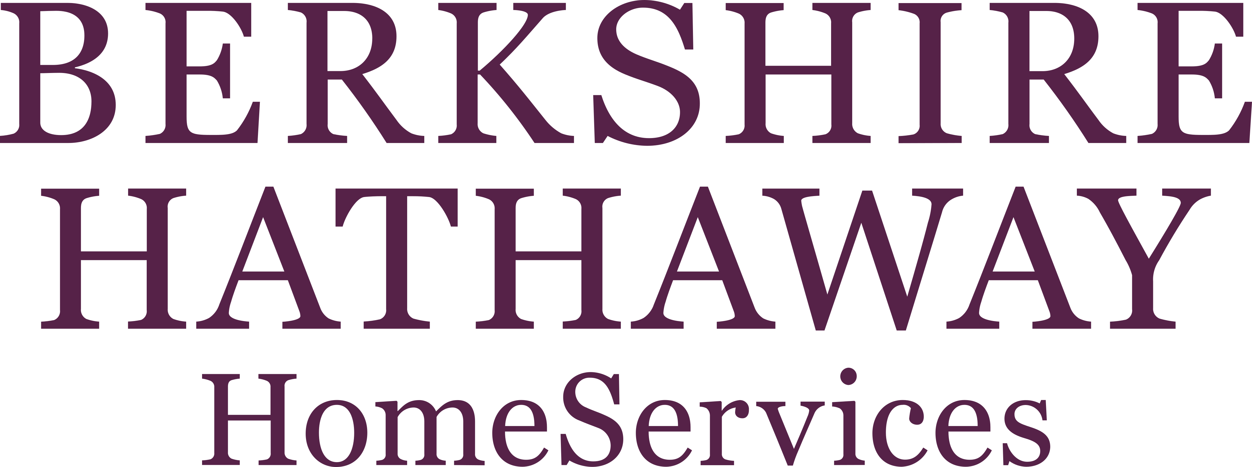 berkshire hathaway home services logo 2 - Berkshire Hathaway HomeServices Logo