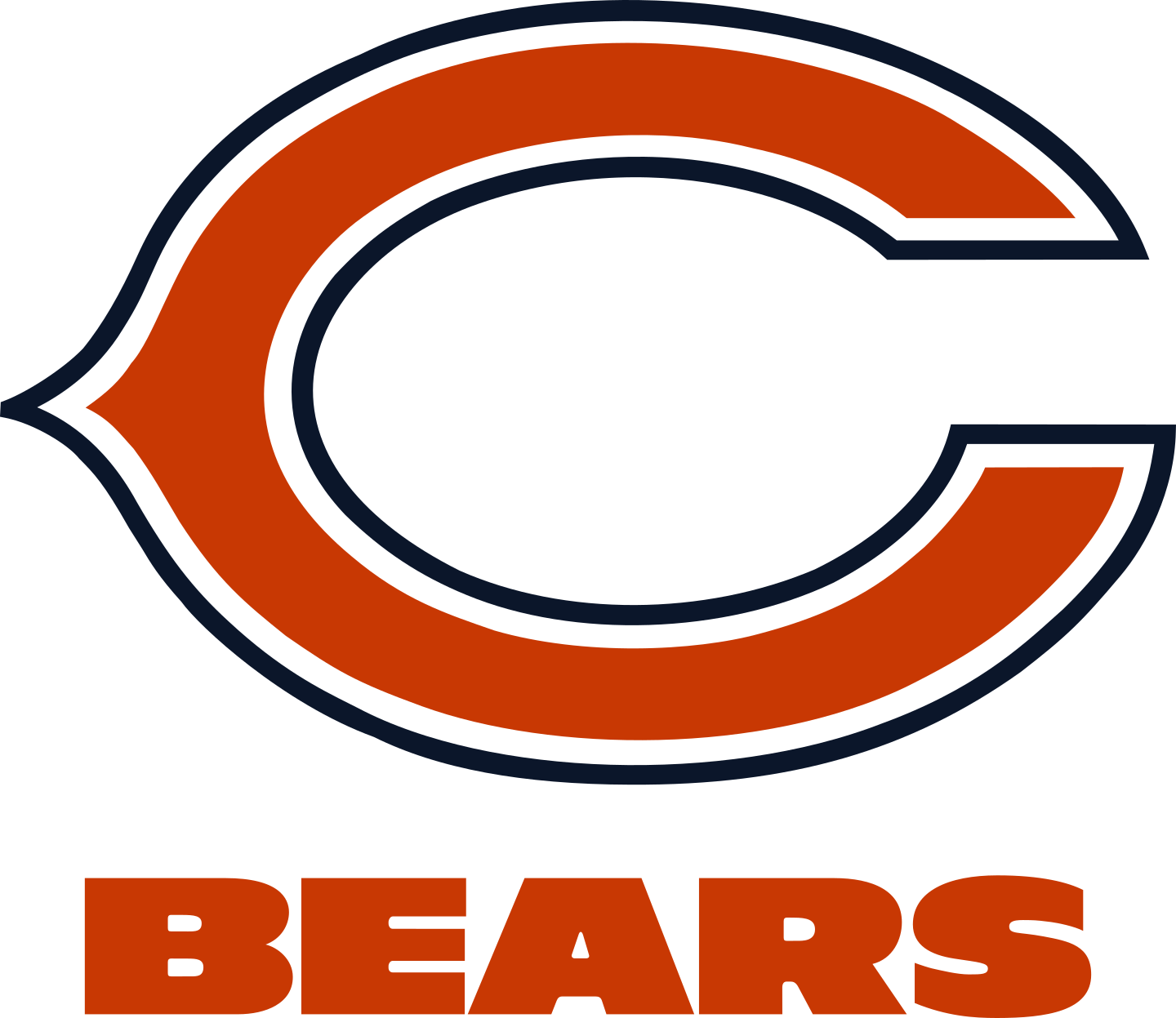 chicago bears logo 2 - Chicago Bears Logo