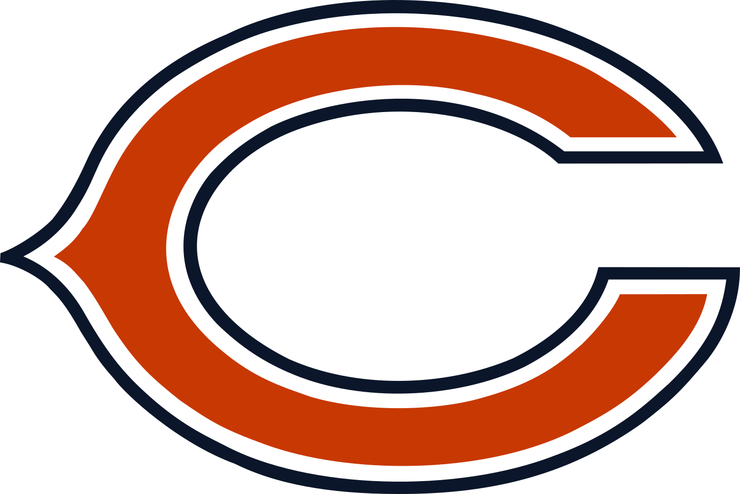 chicago bears logo 3 - Chicago Bears Logo