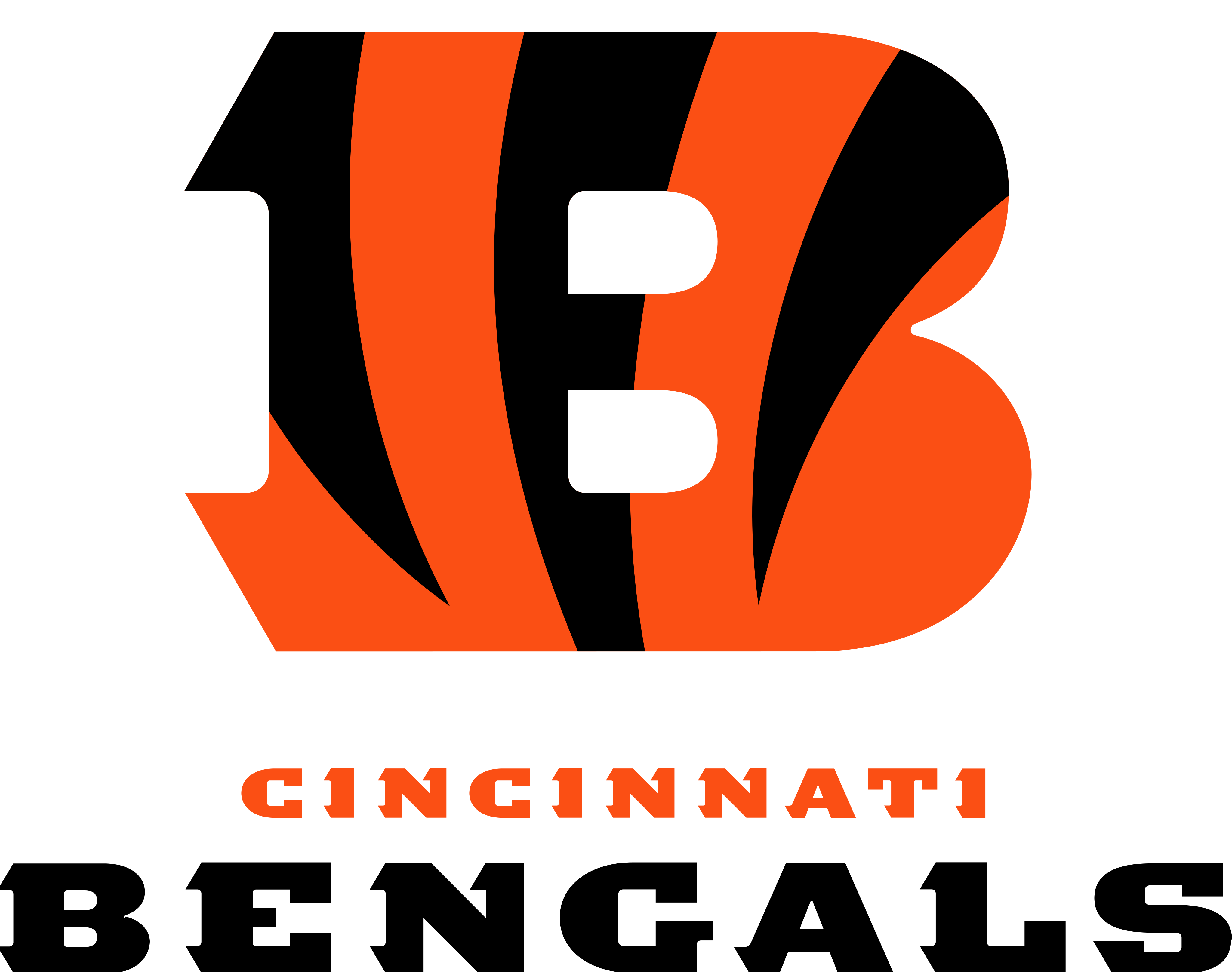 Cincinnati Bengals Logo.