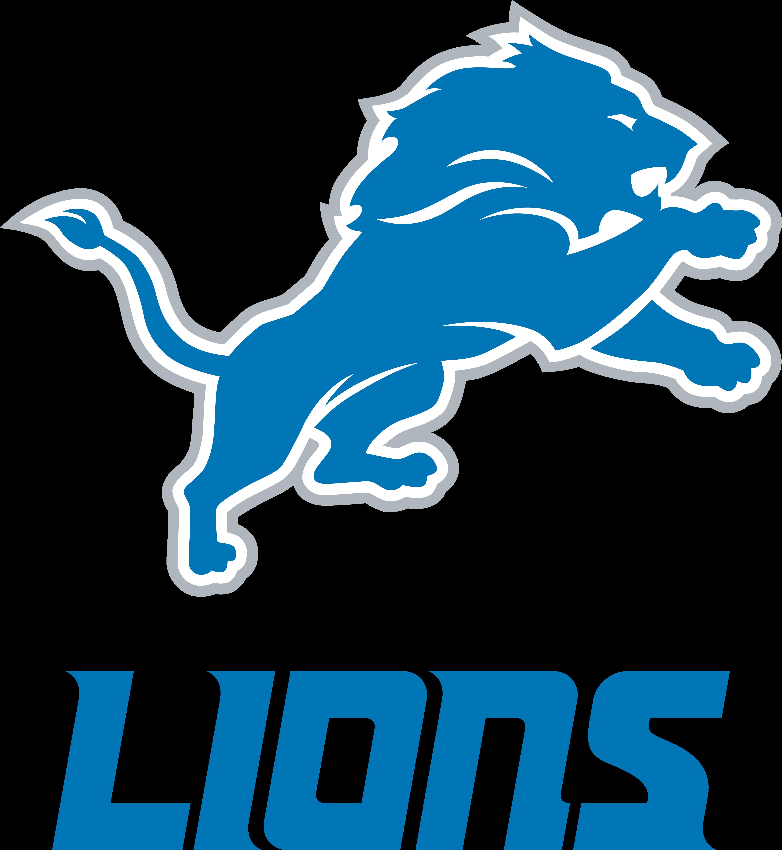 Detroit Lions Logo.