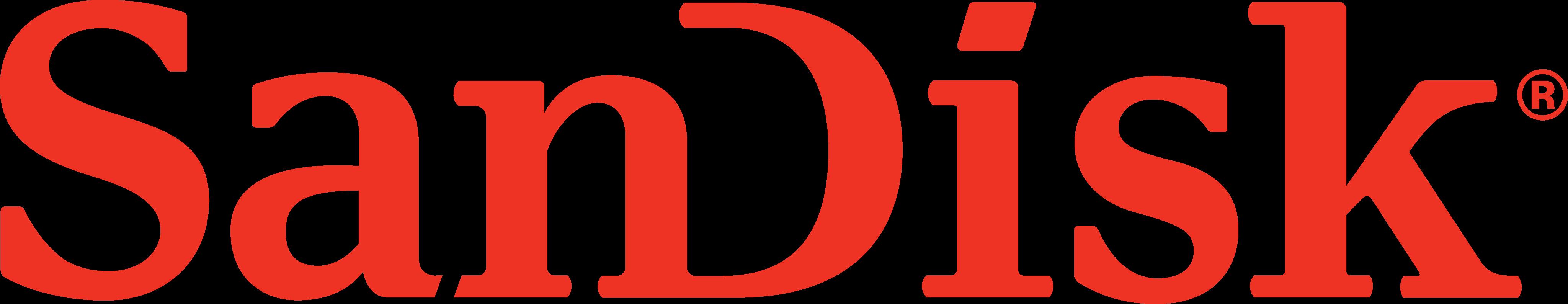 SanDisk Logo.