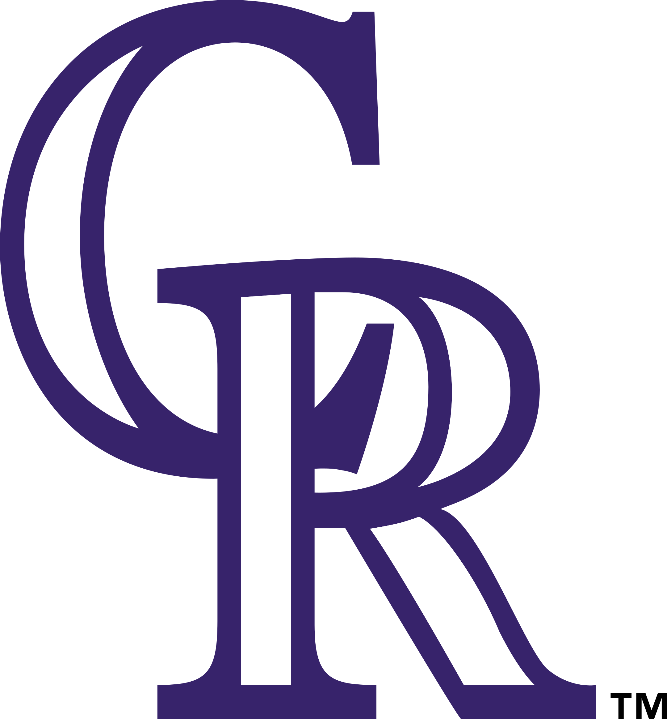 colorado rockies logo 1 - Colorado Rockies Logo