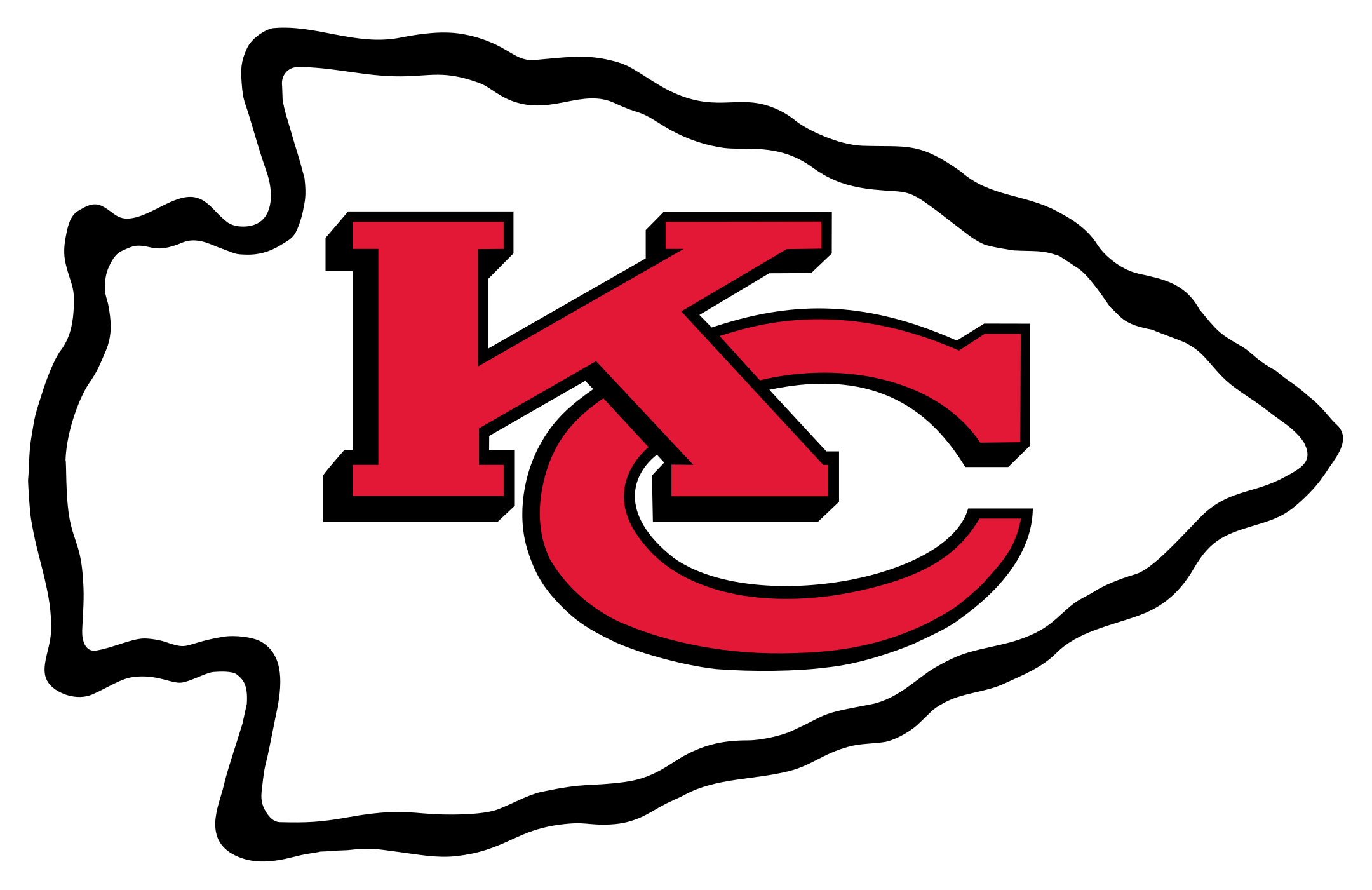 kansas city chiefs logo 1 - Kansas City Chiefs Logo
