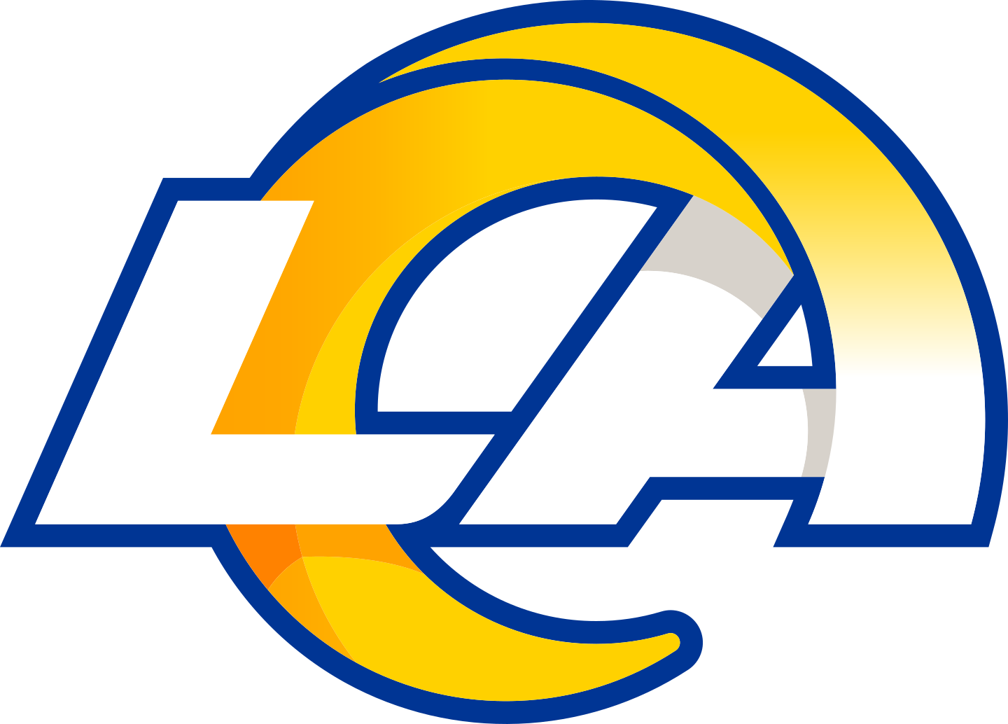 la rams logo 3 - Los Angeles Rams Logo