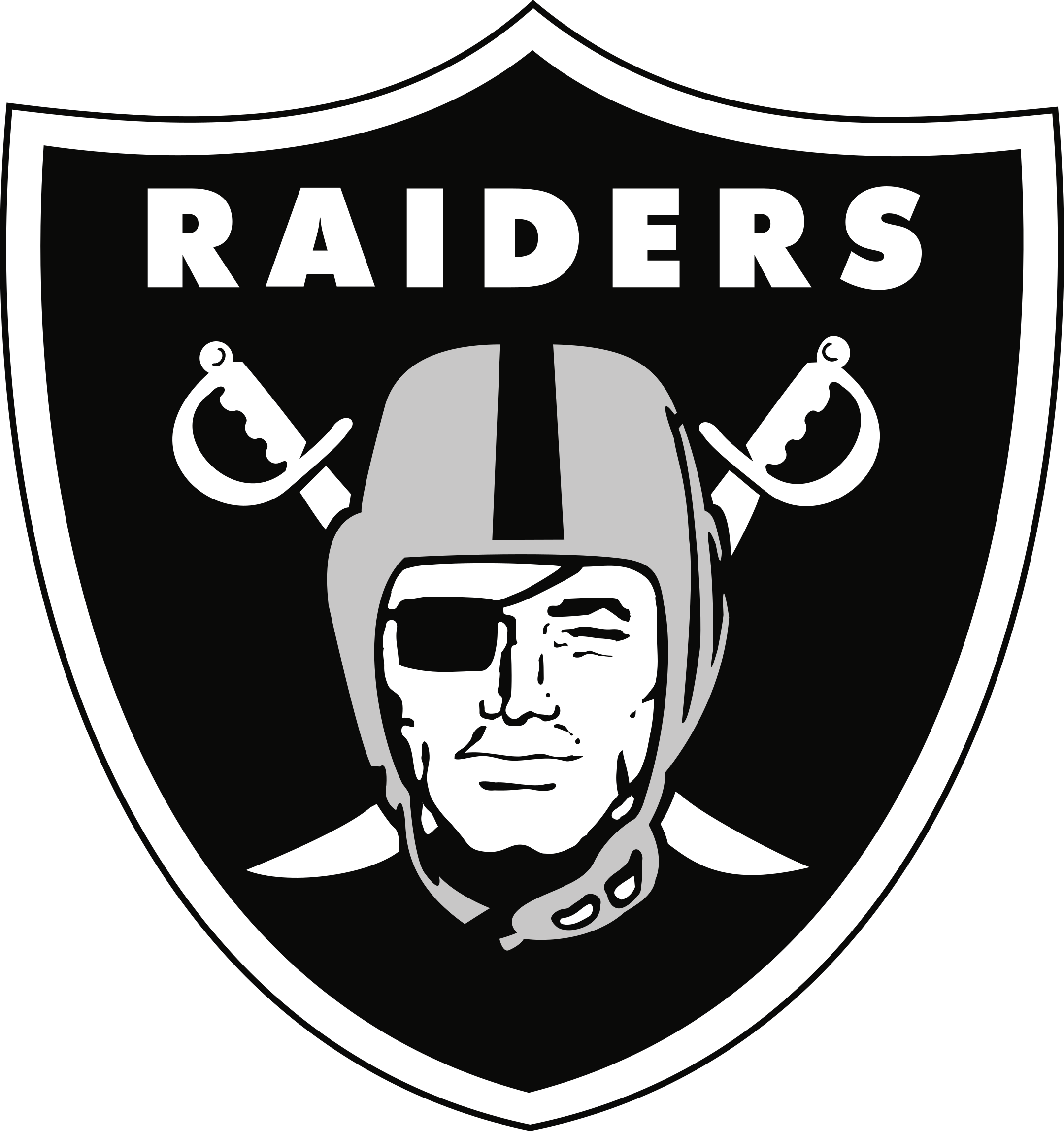 las vegas raiders logo 1 - Las Vegas Raiders Logo