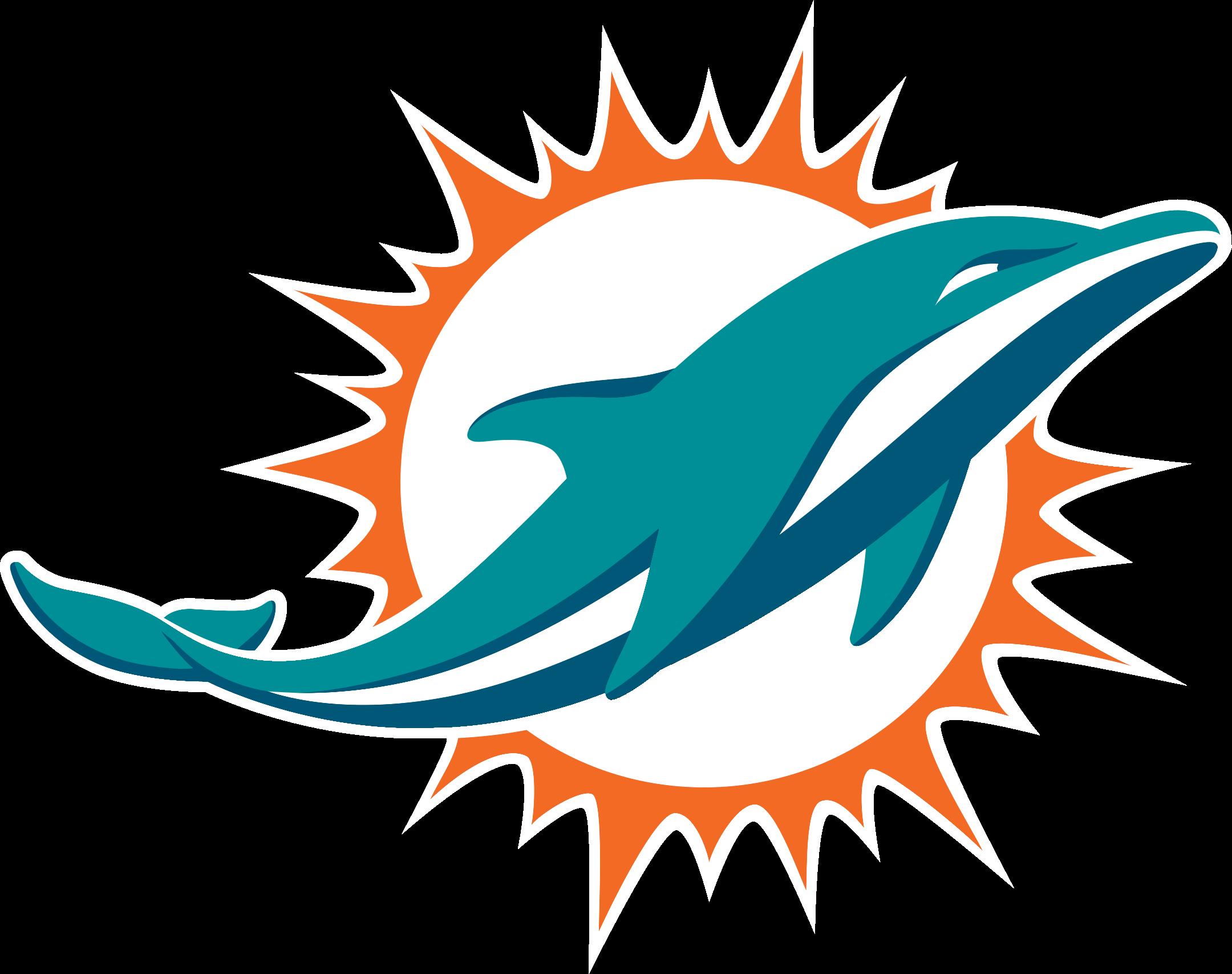 miami dolphins logo 1 - Miami Dolphins Logo