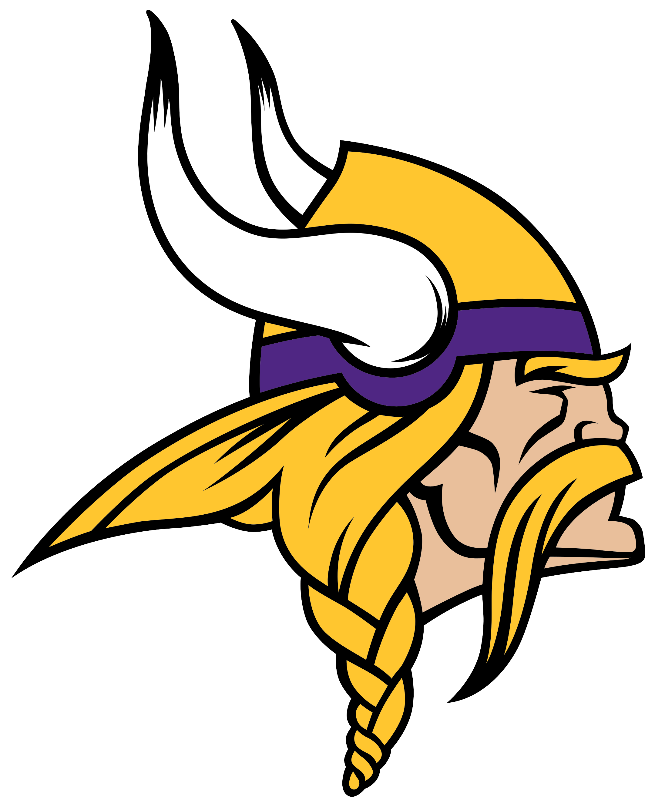 minnesota vikings logo 1 - Minnesota Vikings Logo