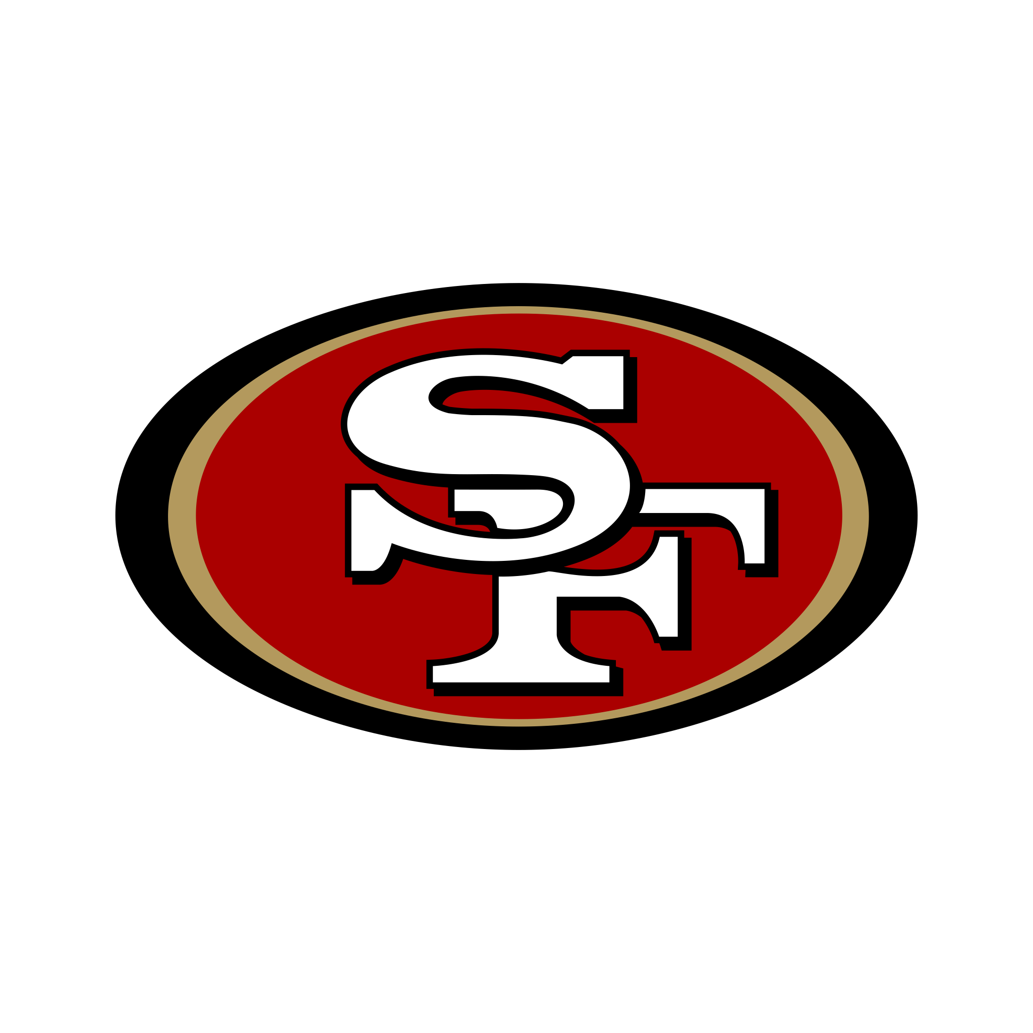 San Francisco 49ers Logo - PNG e Vetor - Download de Logo