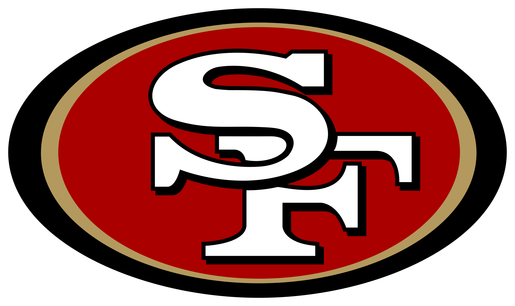san francisco 49ers logo 1 - San Francisco 49ers Logo