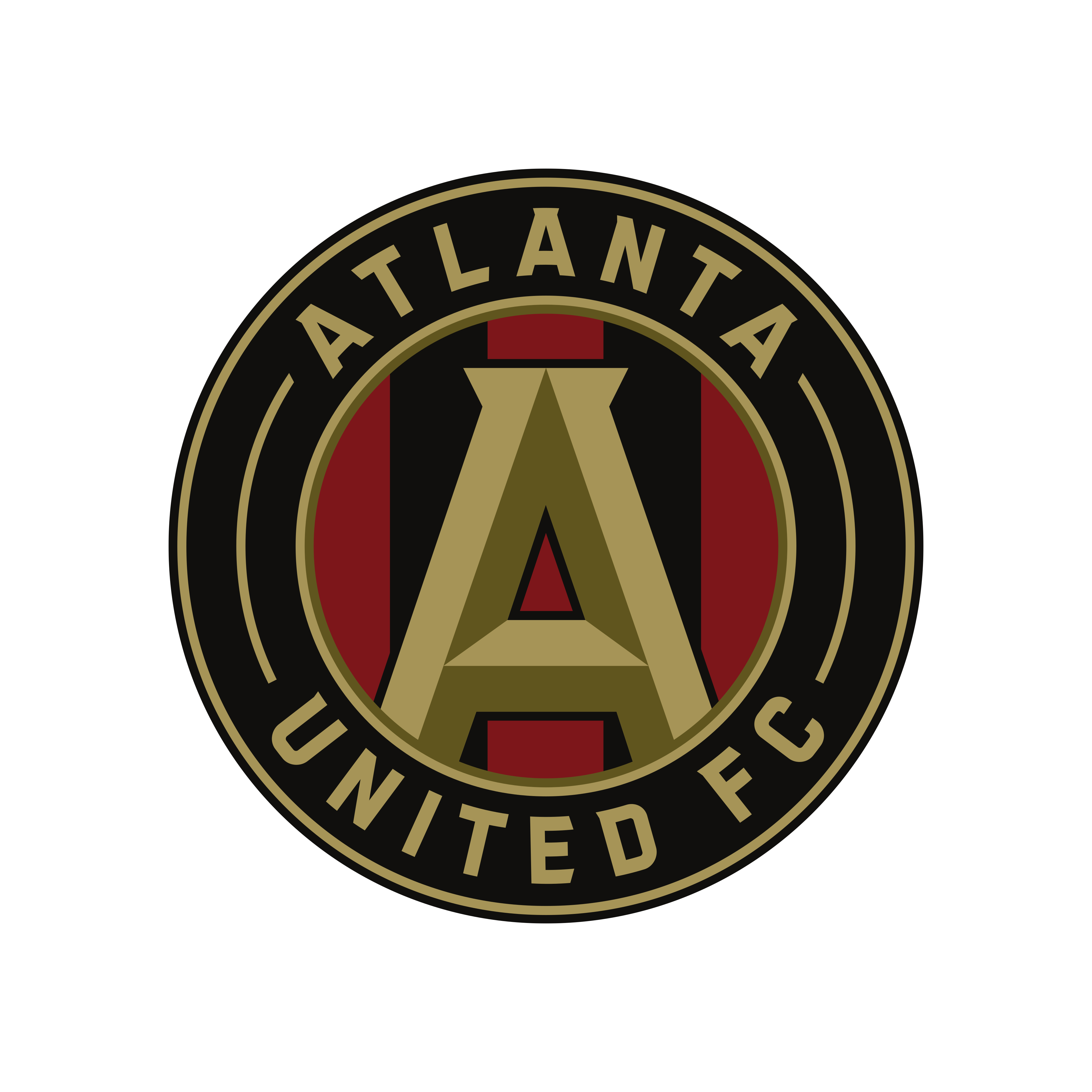 atlanta united fc logo 0 - Atlanta United FC Logo