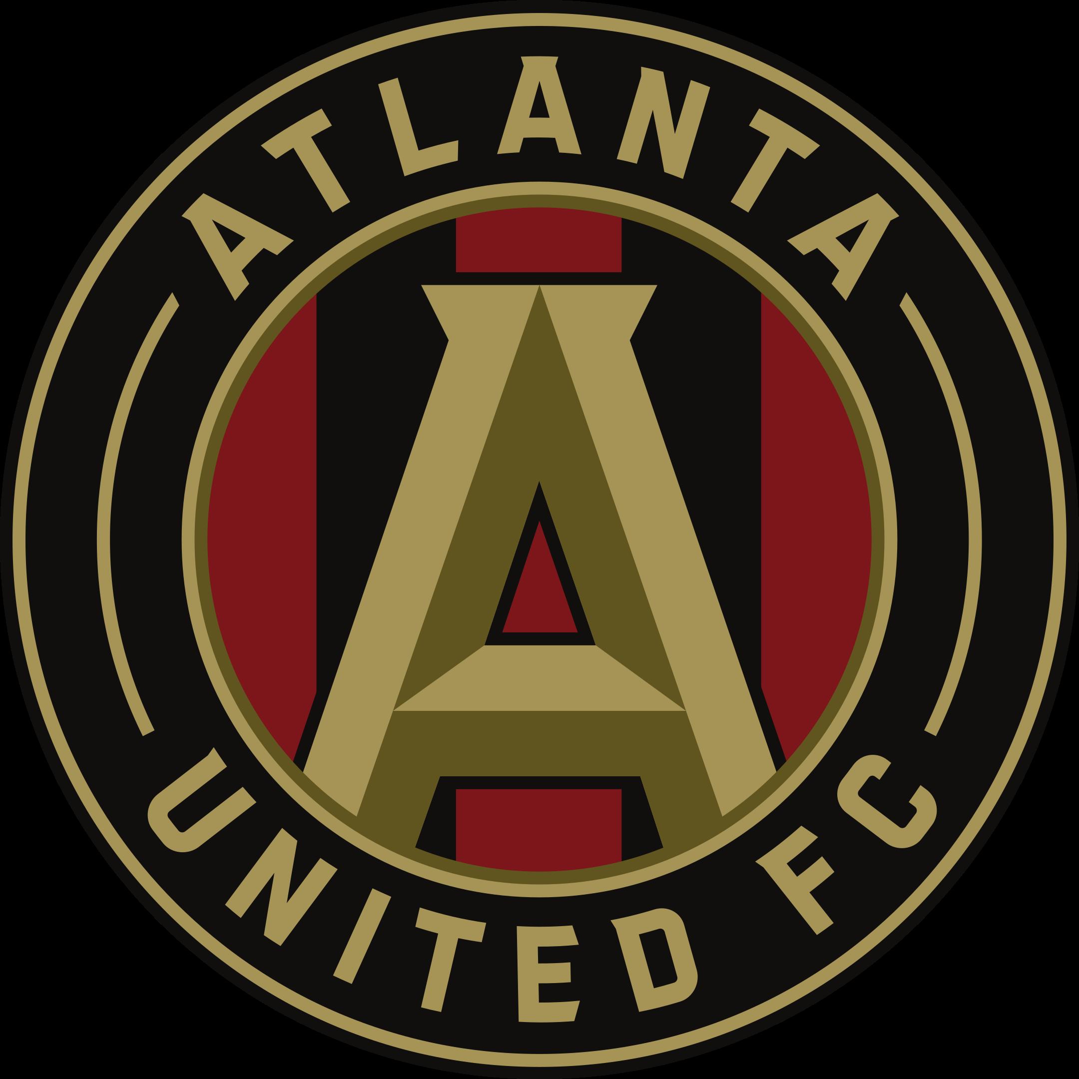 atlanta united fc logo 1 - Atlanta United FC Logo