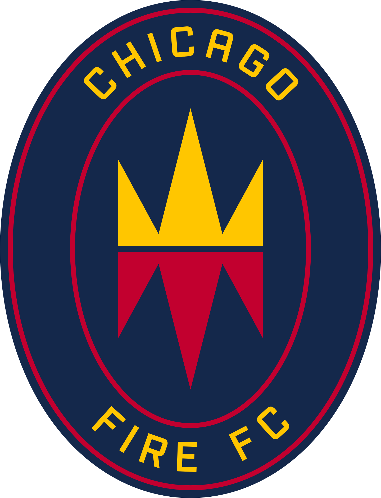 chicago fire logo 2 - Chicago Fire FC Logo