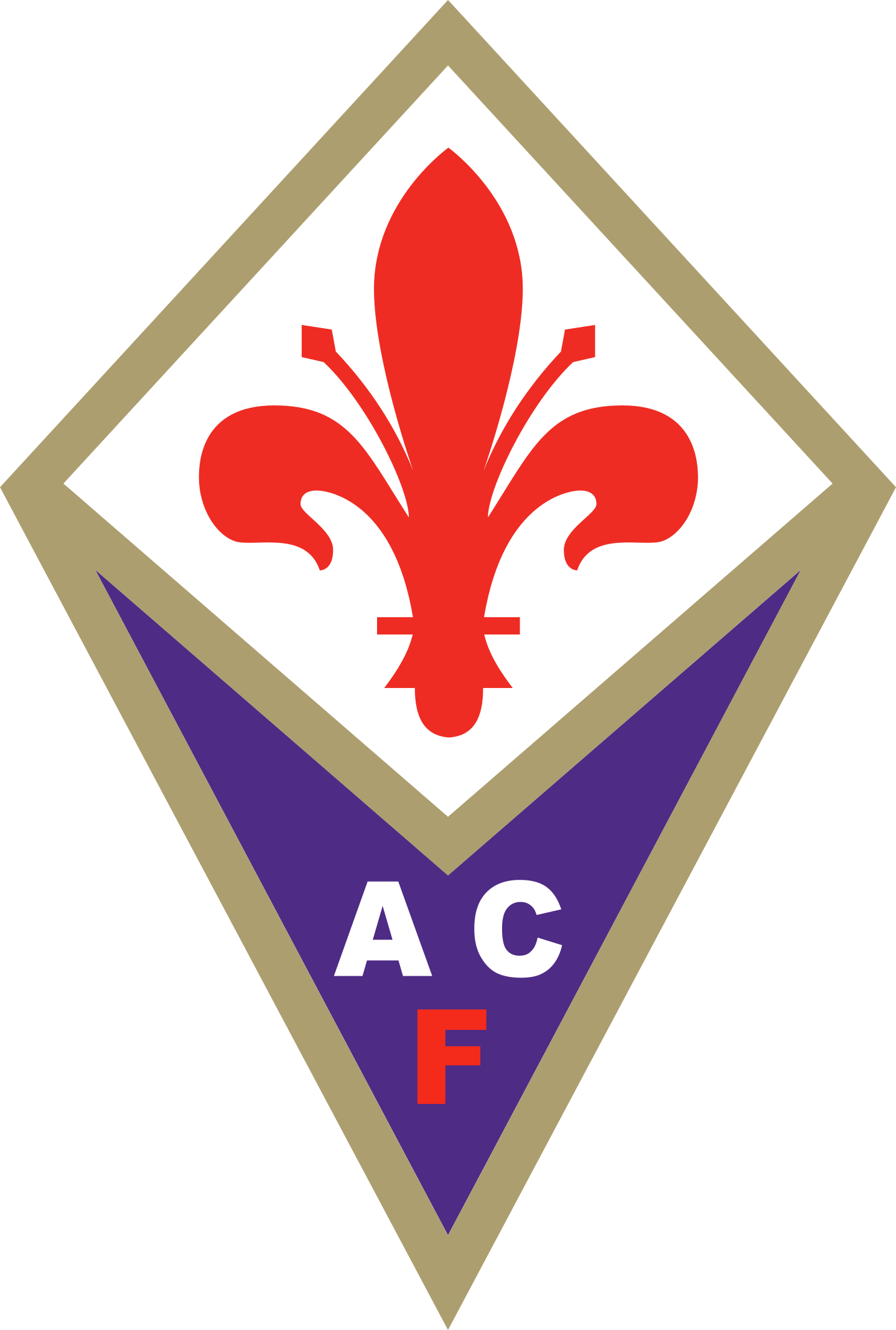 fiorentina logo 2 - ACF Fiorentina Logo