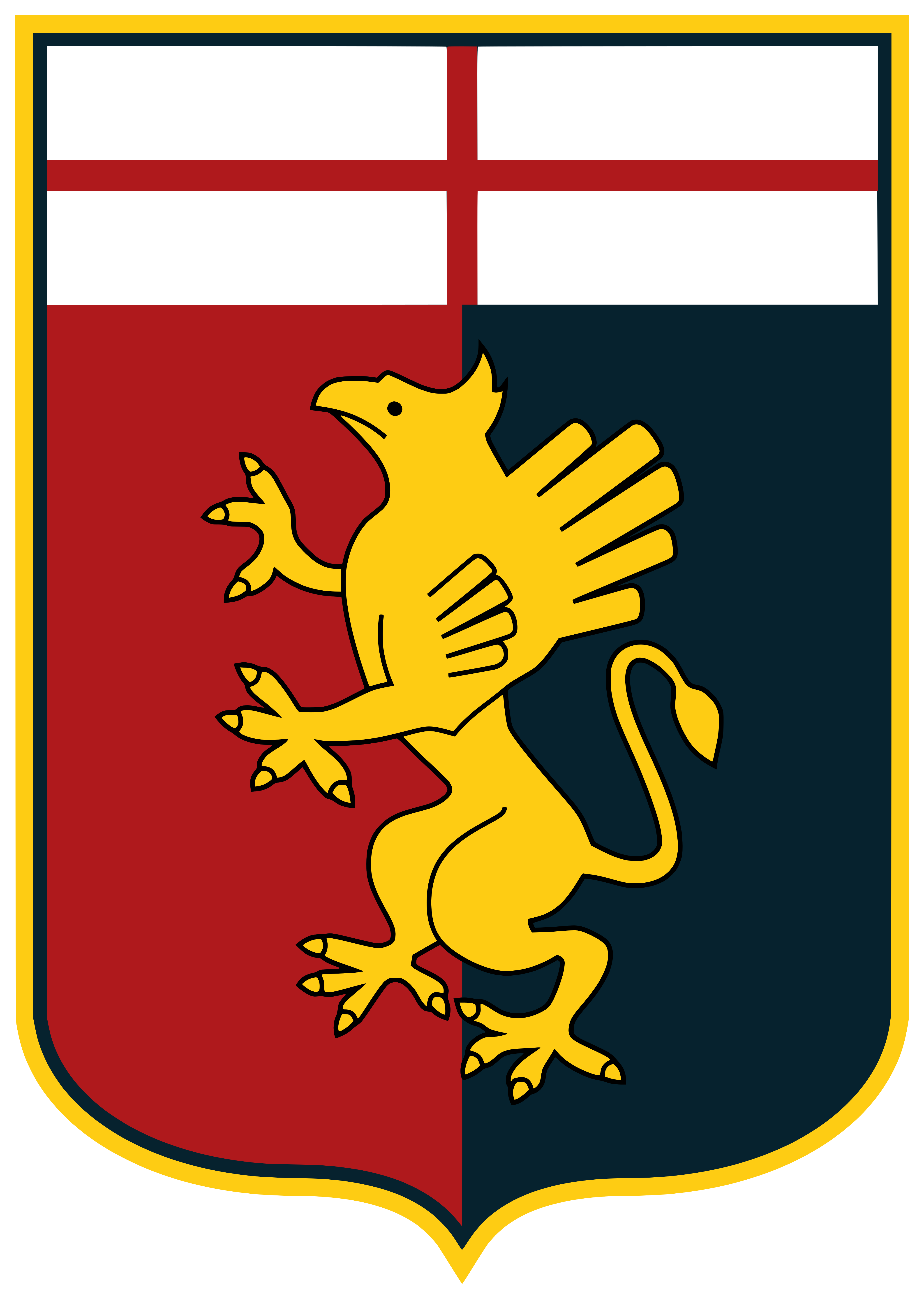 genoa fc logo - Genoa FC Logo
