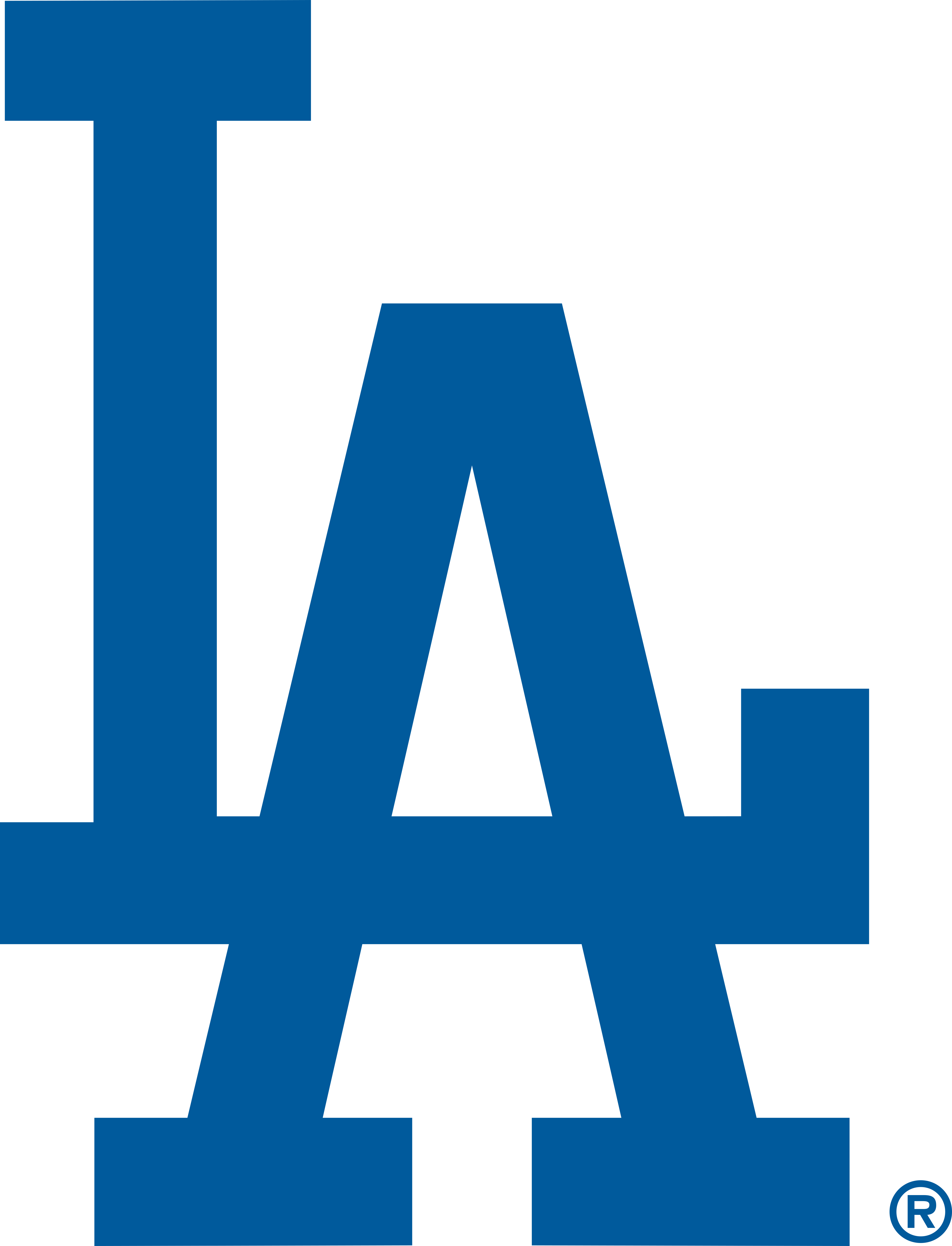 Los Angeles Dodgers Logo.