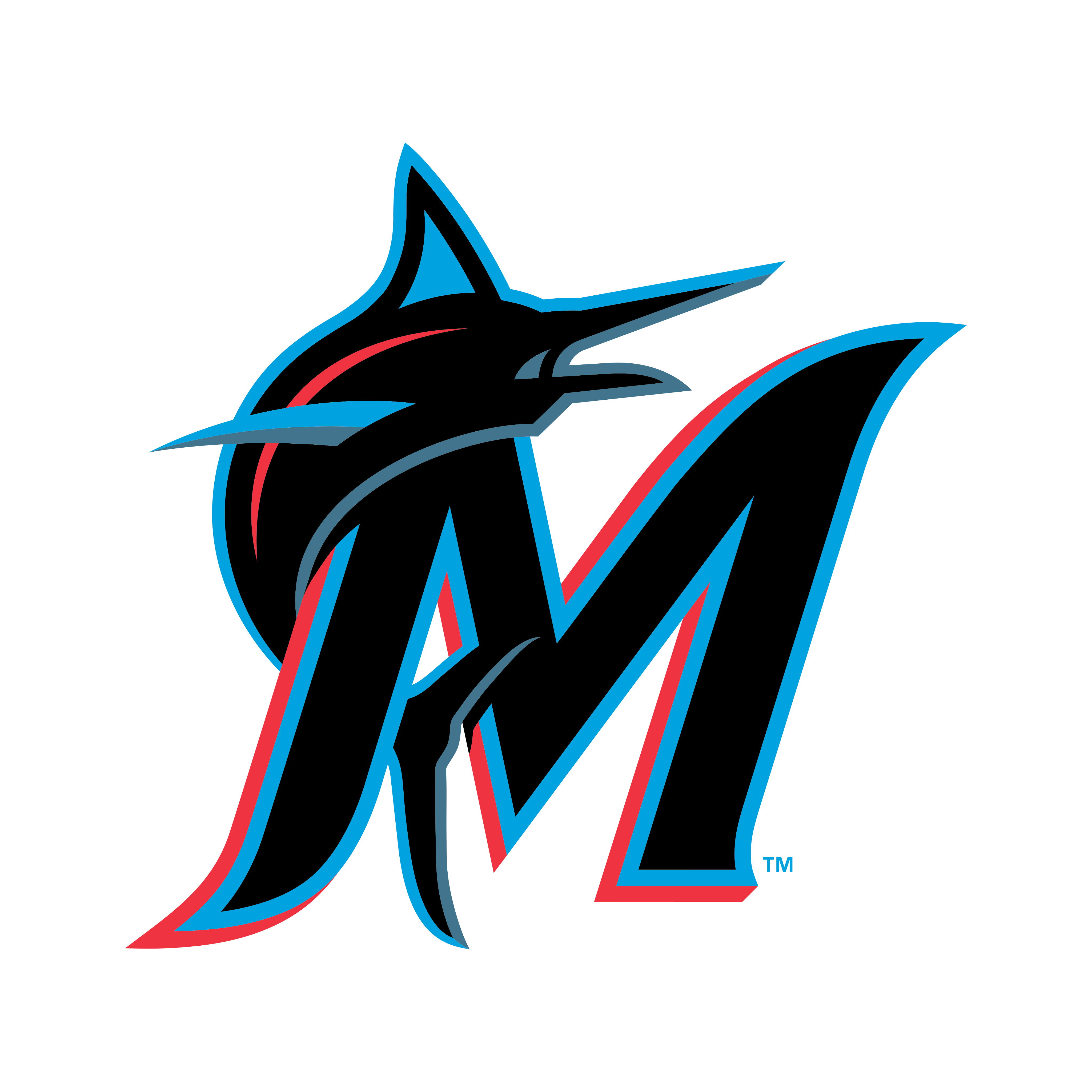 miami marlins logo 0 - Miami Marlins Logo