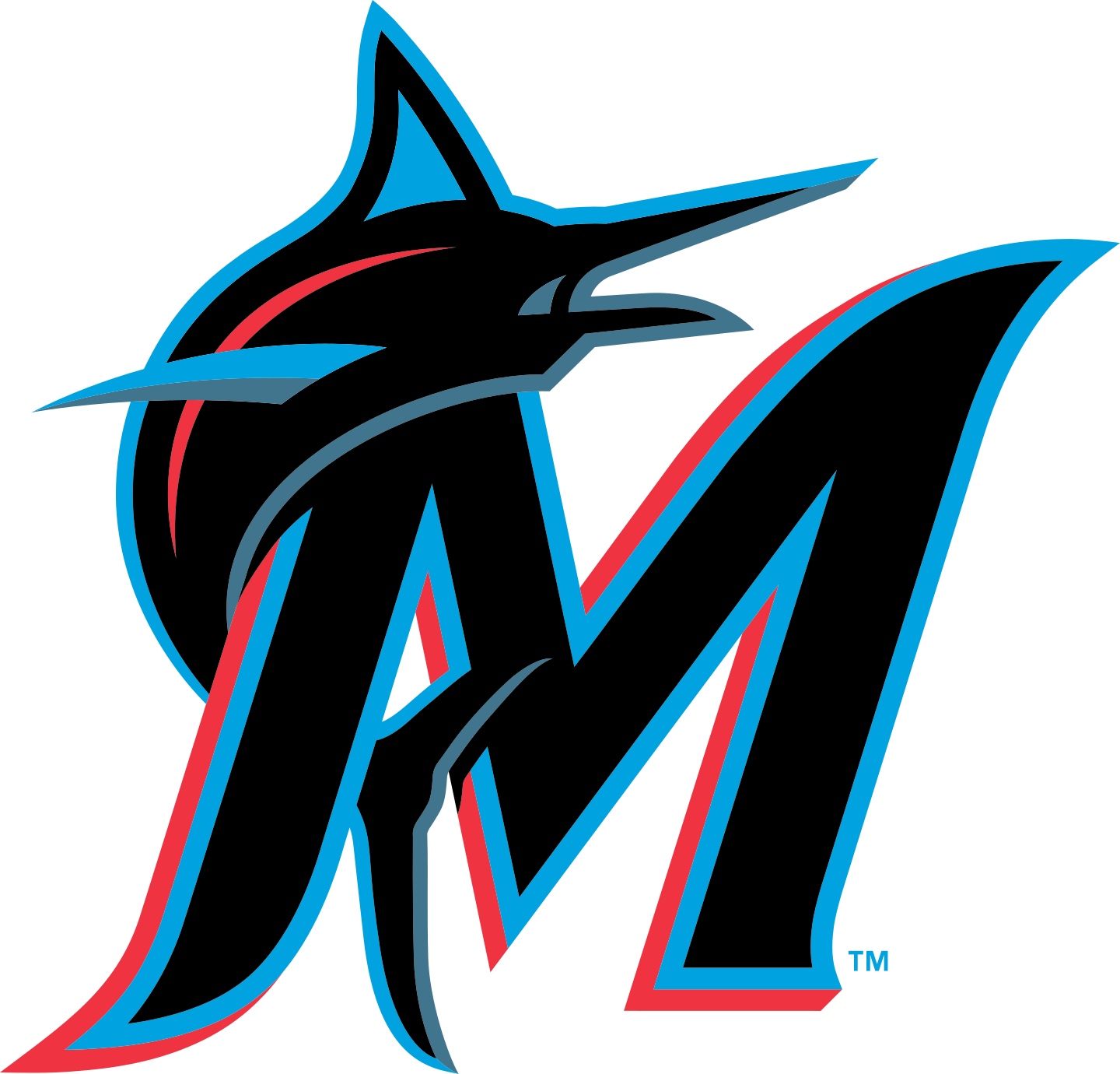 miami marlins logo 2 - Miami Marlins Logo