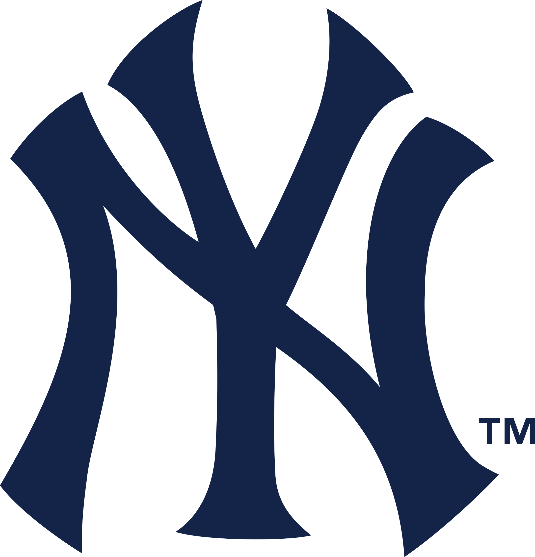 new york yankees logo 1 - New York Yankees Logo